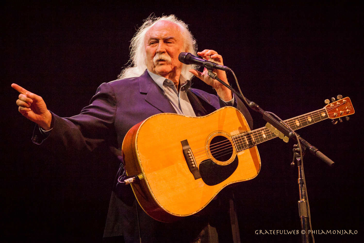 David Crosby and Friends to Perform at The Stanley Hotel