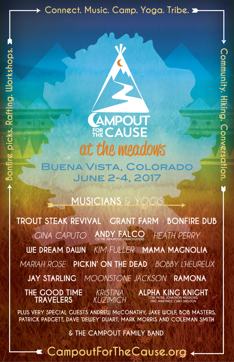 Campout for the Cause 2017 Lineup