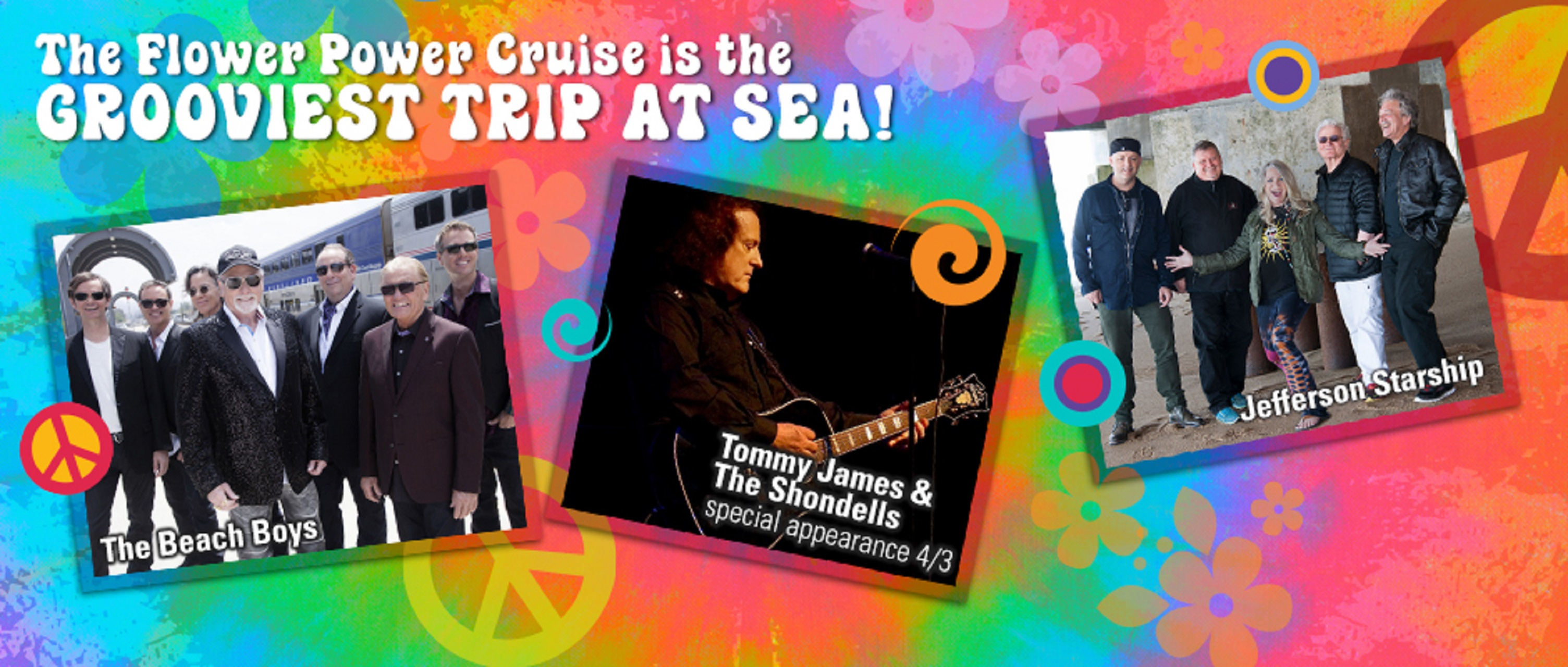 Grand Funk Railroad Flower Power Cruise Feb. 28-March 1
