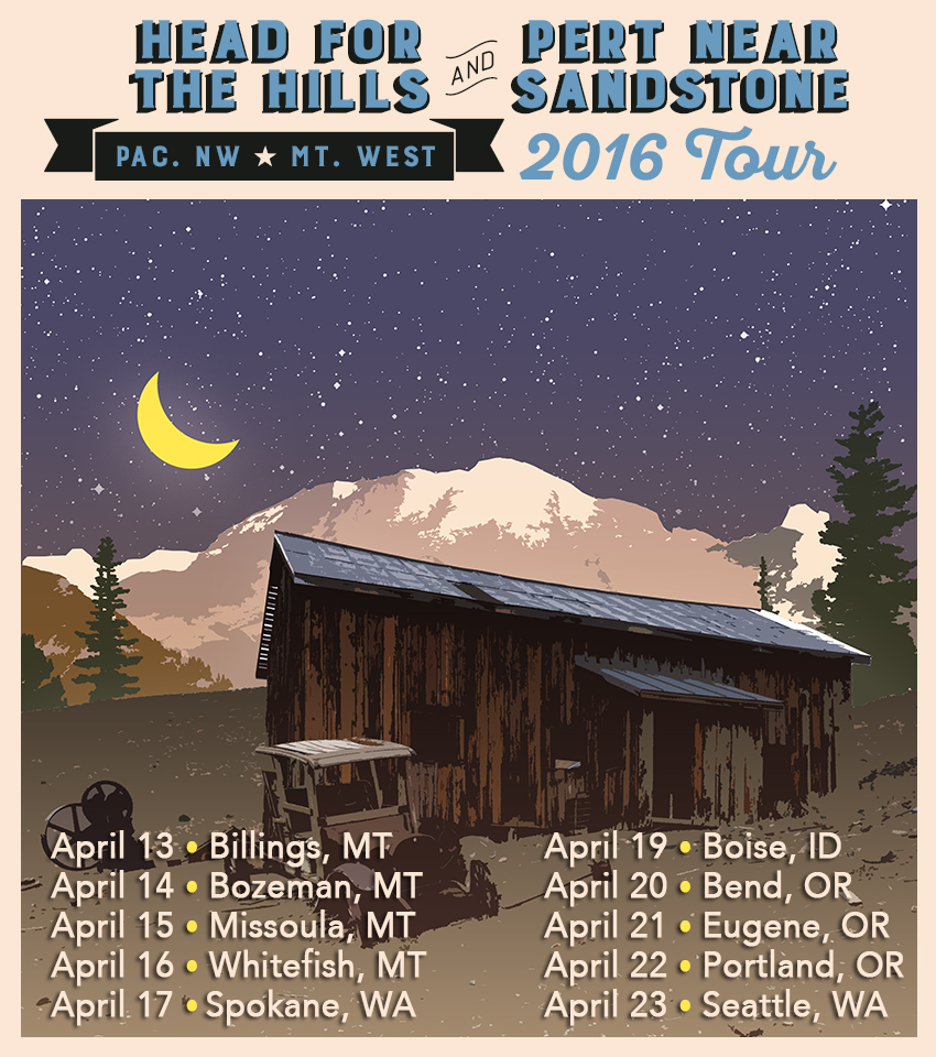 Head for the Hills and Pert Near Sandstone 2016 Spring Tour