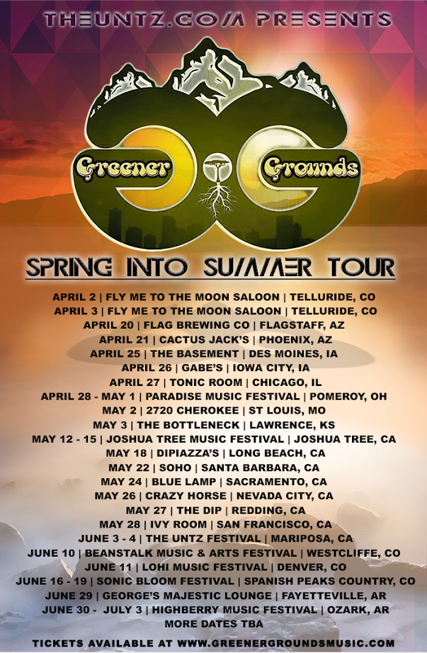 Greener Grounds Spring Into Summer Tour