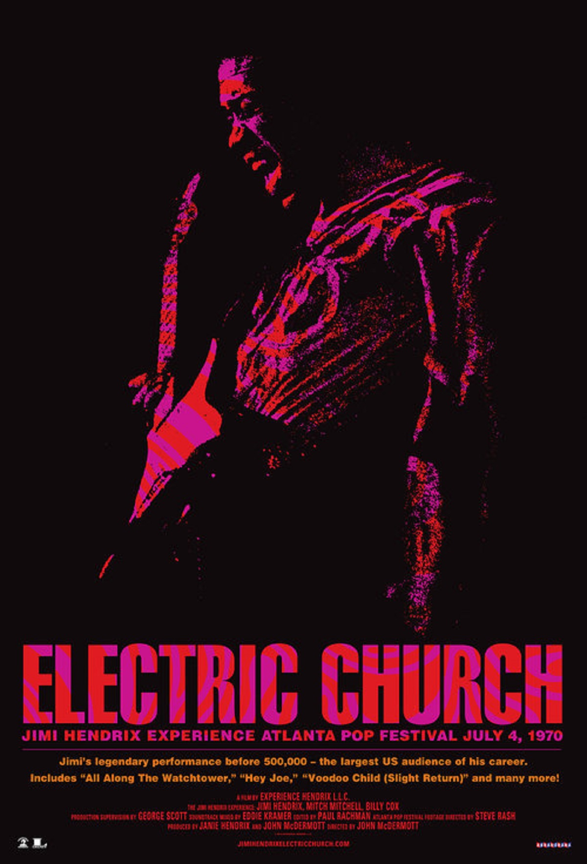 "Cabot Theater to screen Jimi Hendrix's ""Electric Church"" on August 10th"