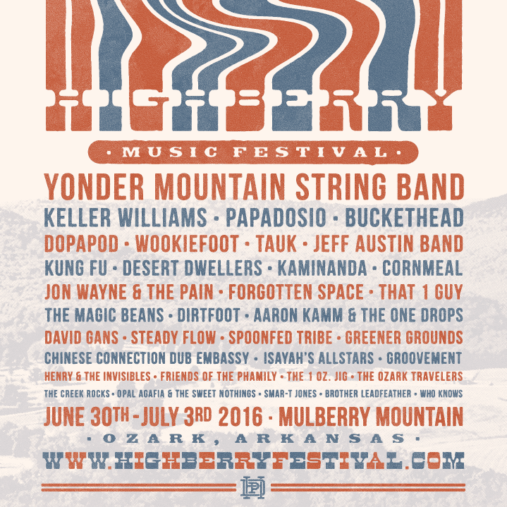 Highberry Music Festival's Final Line-up for the 4th