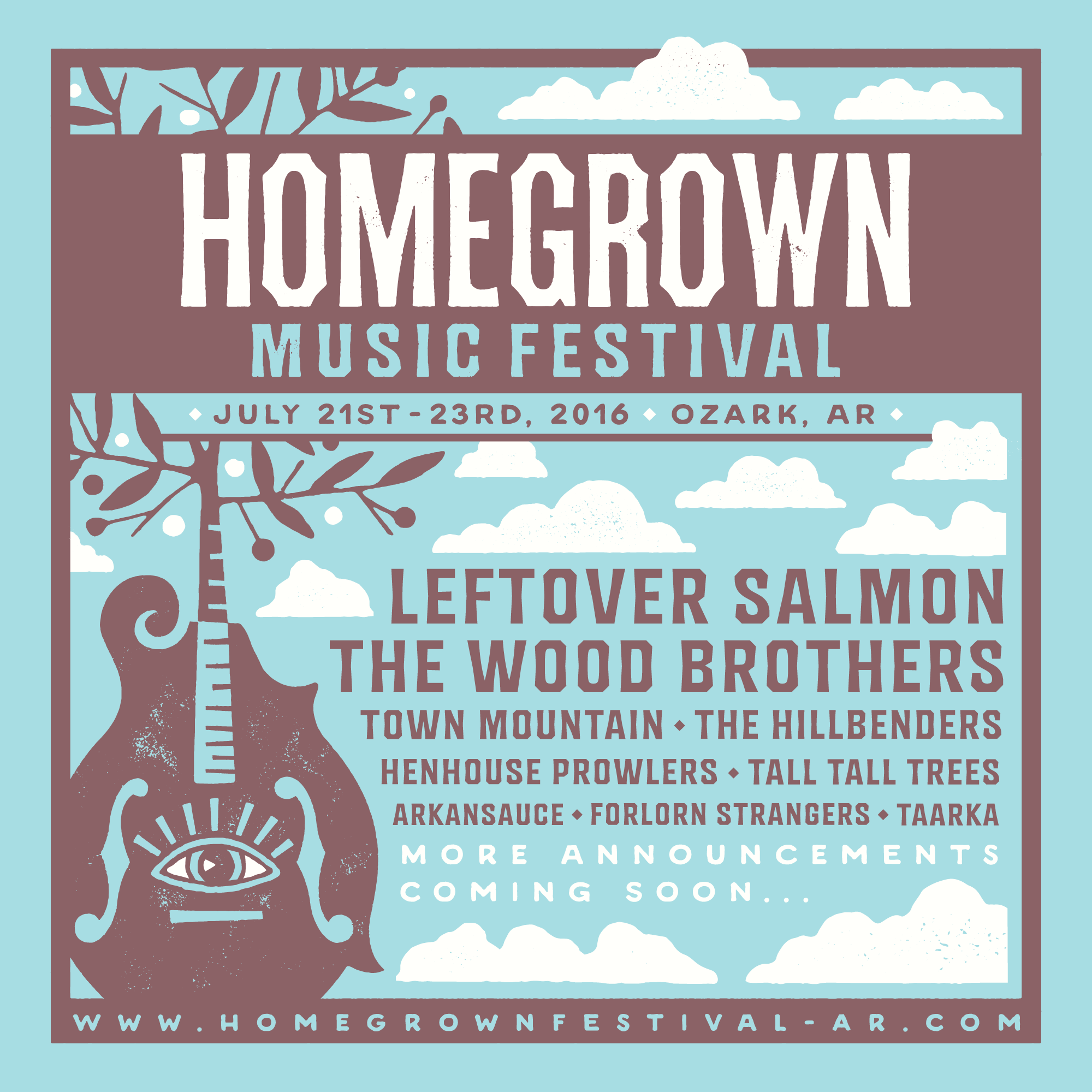 Announcing the Inaugural Homegrown Music Festival