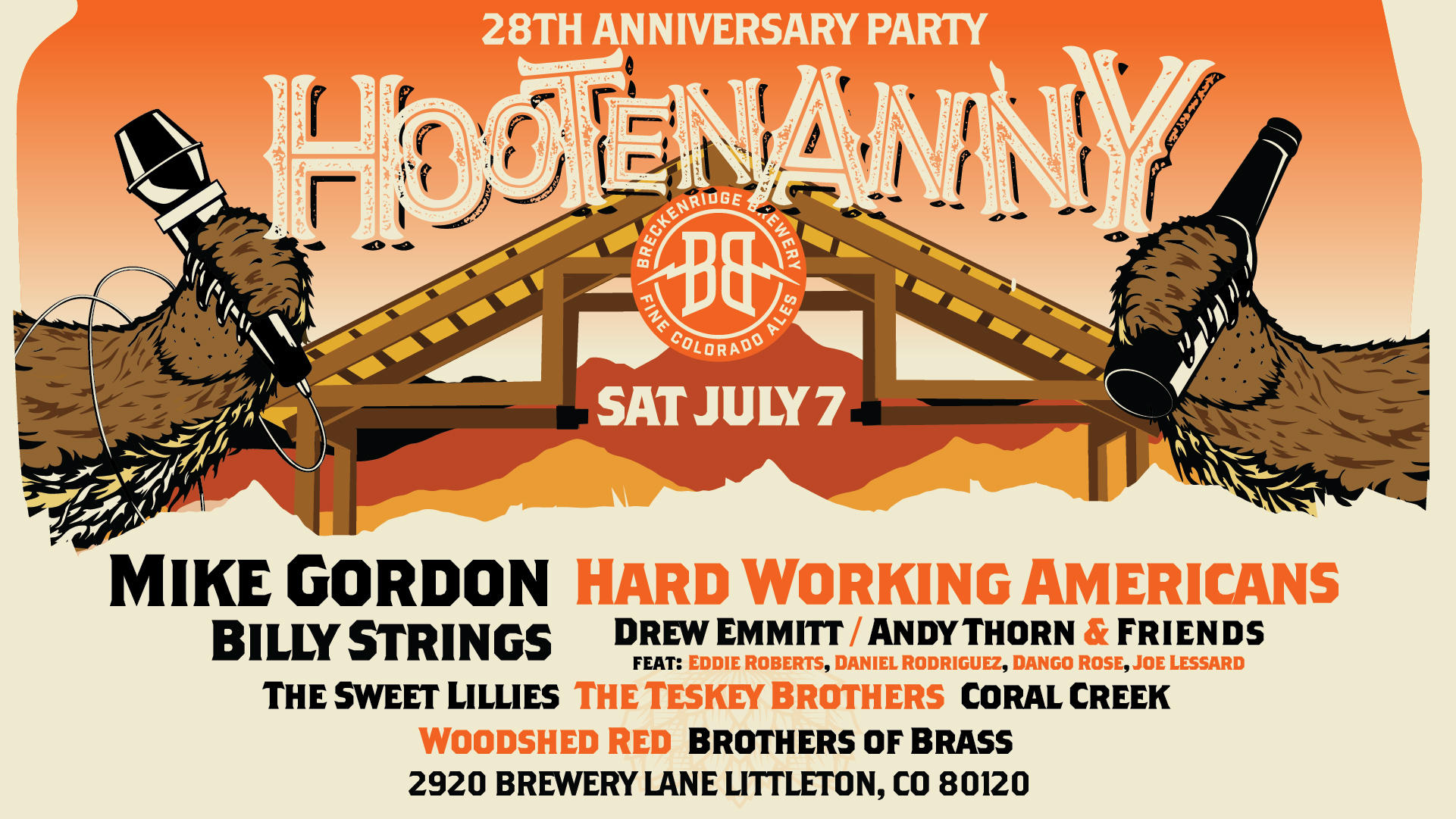Hootenanny 2018 ft. Mike Gordon, Hard Working Americans, Billy Strings, and More