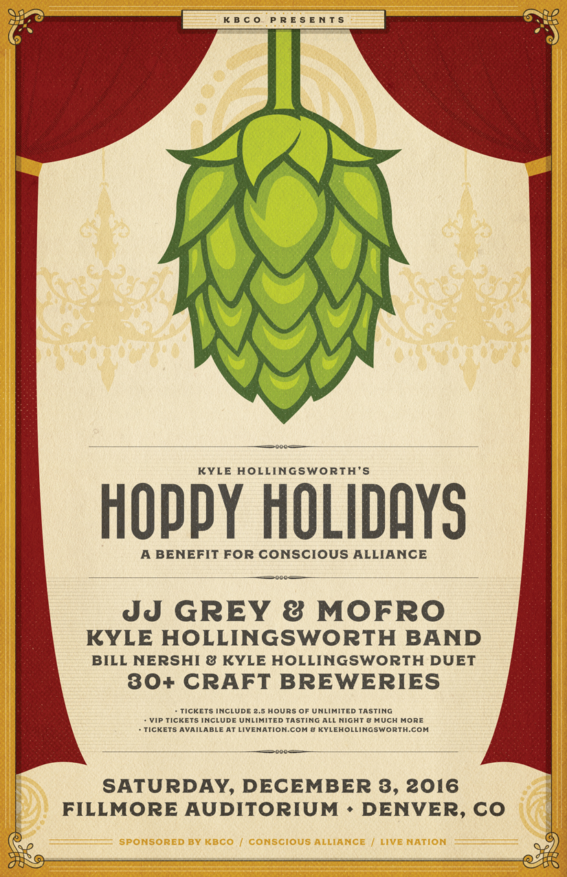 Kyle Hollingsworth Announces 2016 Hoppy Holidays