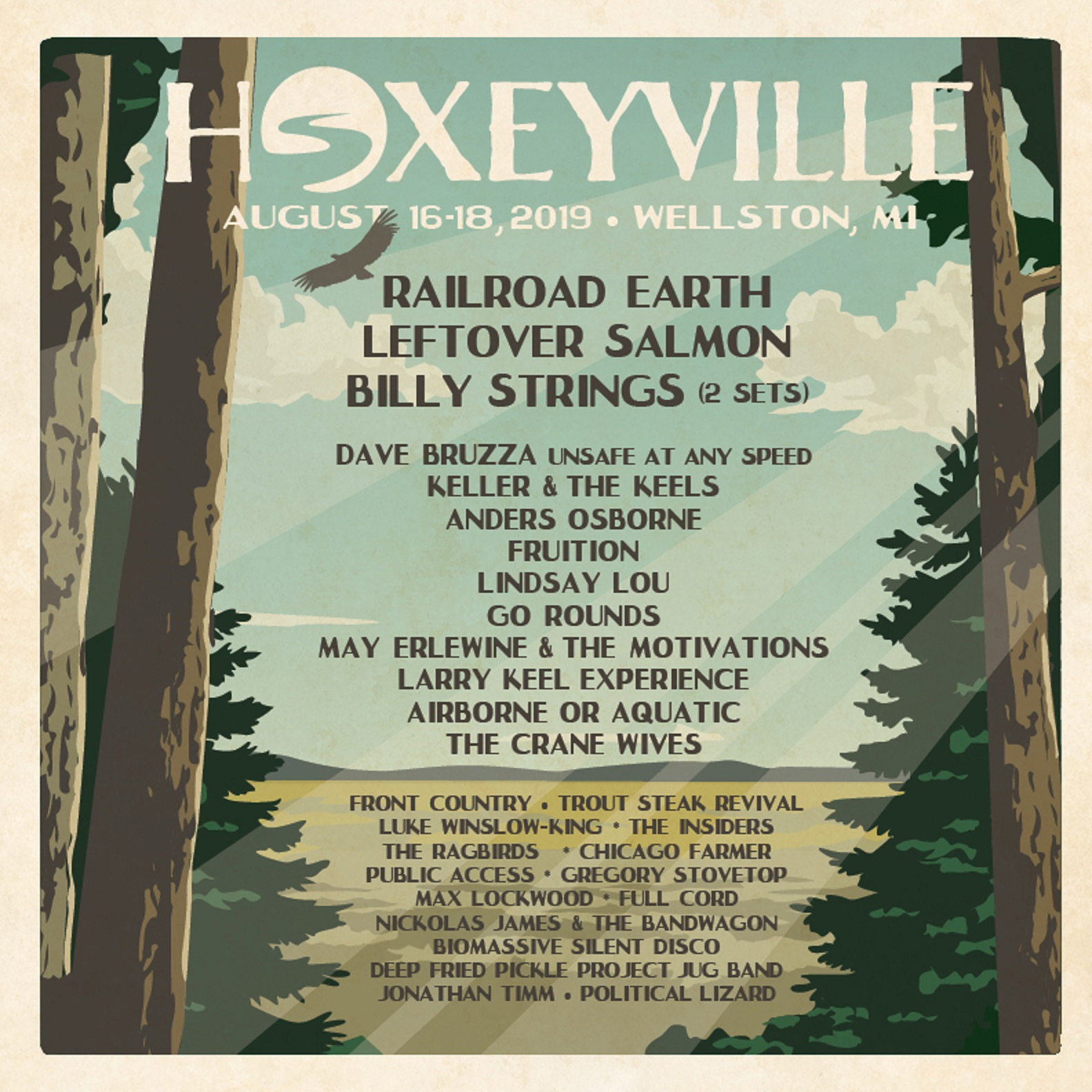 Hoxeyville Music Festival Announces Lineup Additions: Leftover Salmon, Anders Osborne & Go Rounds