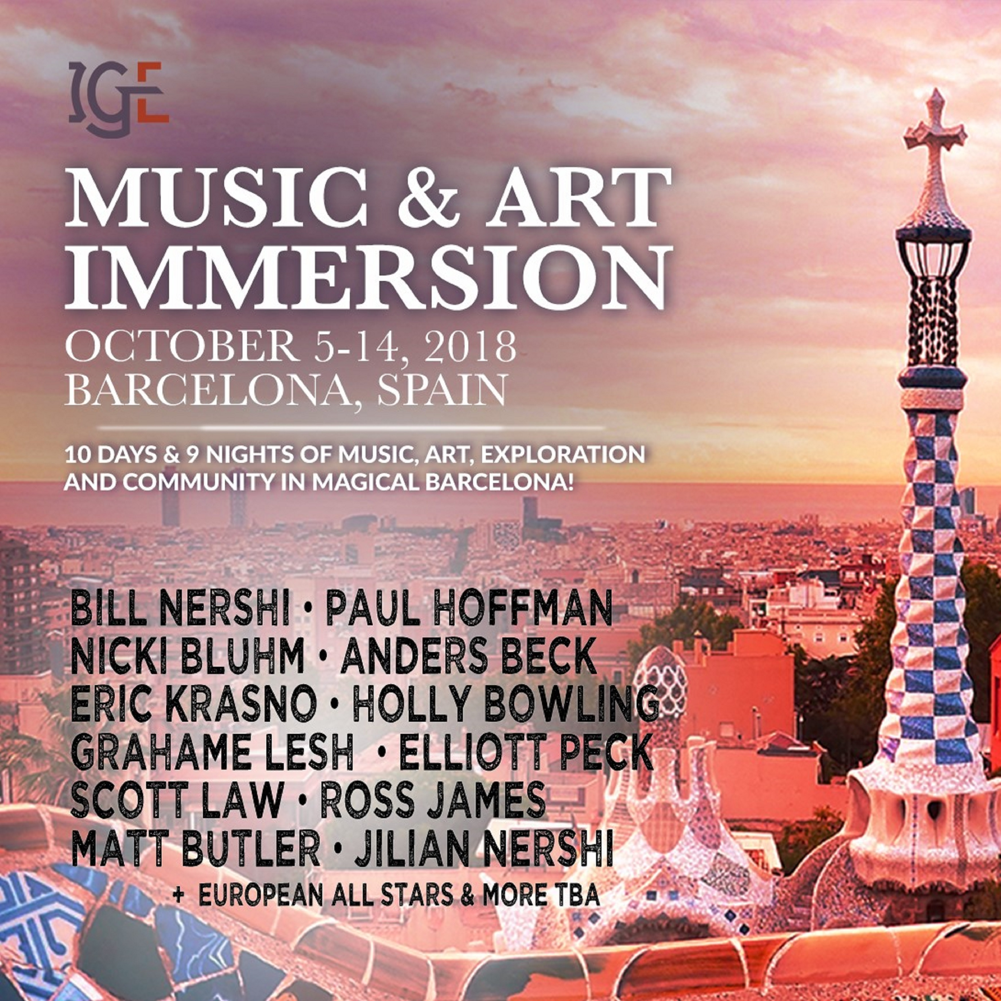 IGE Music & Art Immersion Engages Barcelona for Location of Fourth Annual Summit