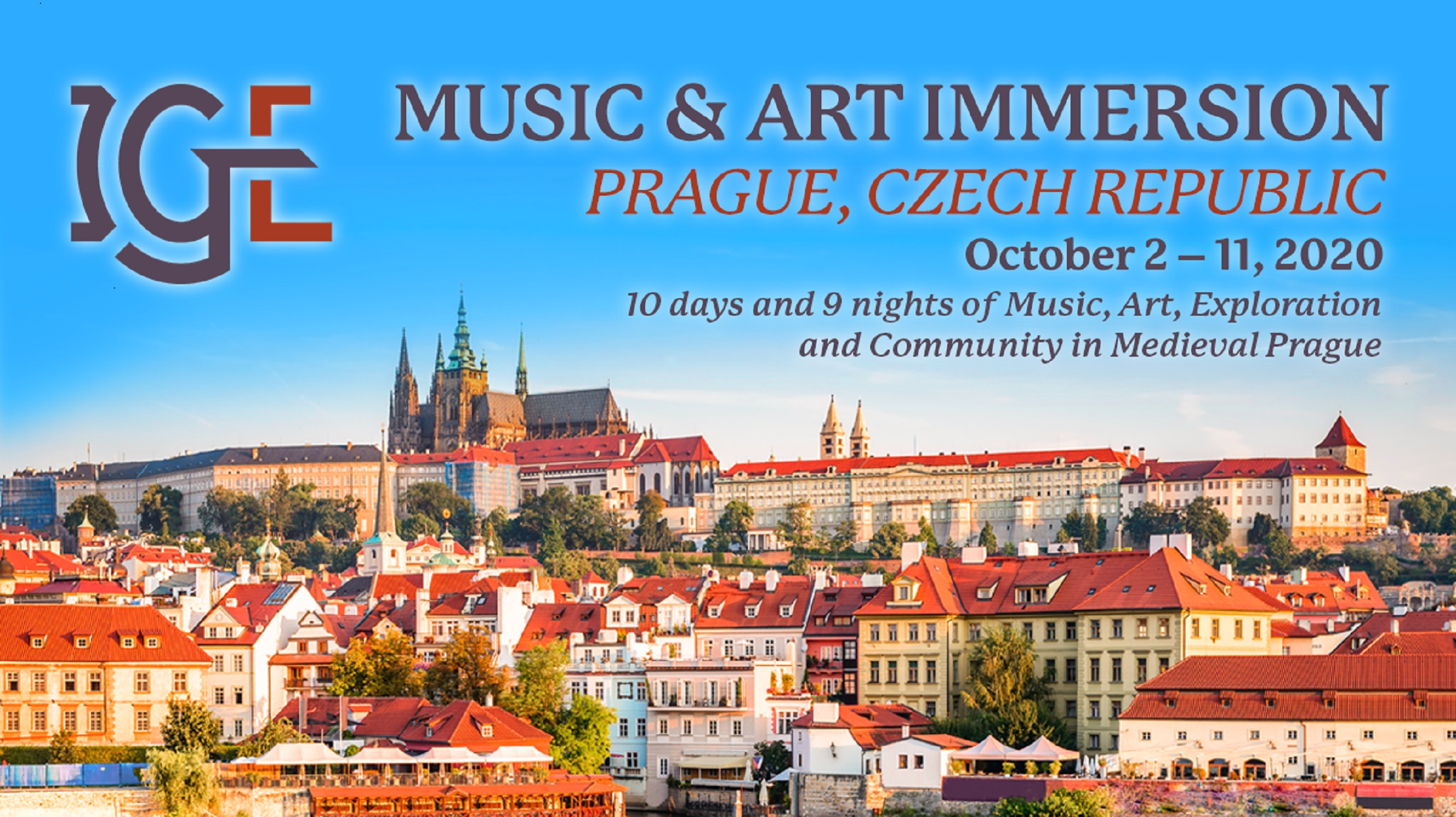 Innovative Giving Enhancement (IGE) Announces 2020 Music and Art Immersion Event in Prague