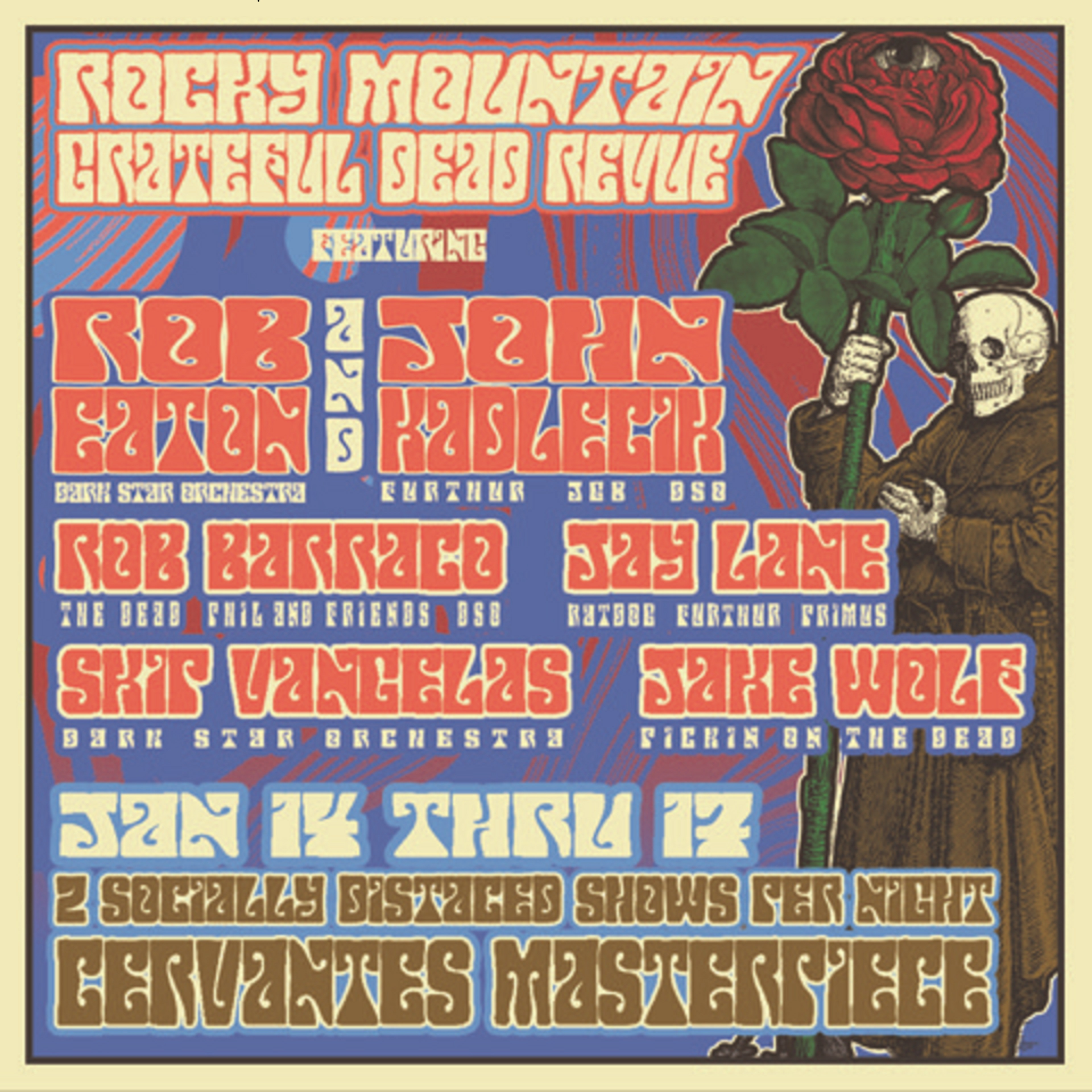 Rocky Mountain Grateful Dead Revue: John Kadlecik Joins DSO Alumni in Denver Jan 14-17