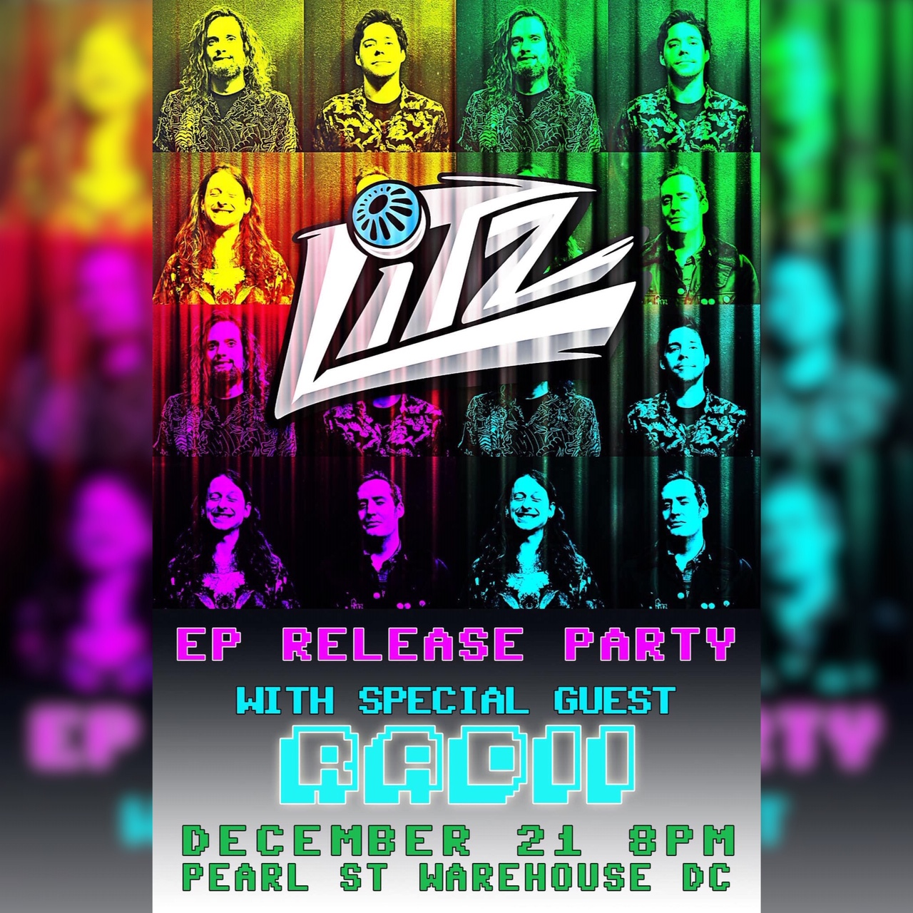 "LITZ New Single ""Summertime Blues"" Out Now - EP Release Party December 21"