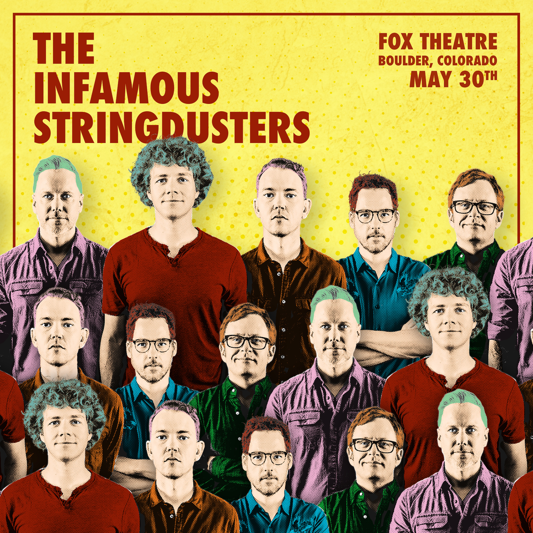 The Stringdusters will play the Fox Theatre tomorrow night!