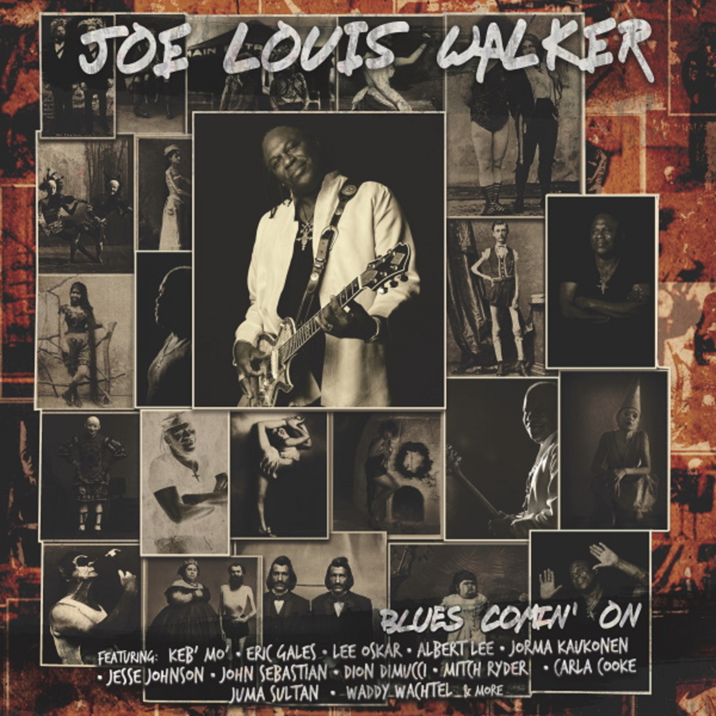 RIC GALES & JOE LOUIS WALKER Team Up On A Brand New Single & Video