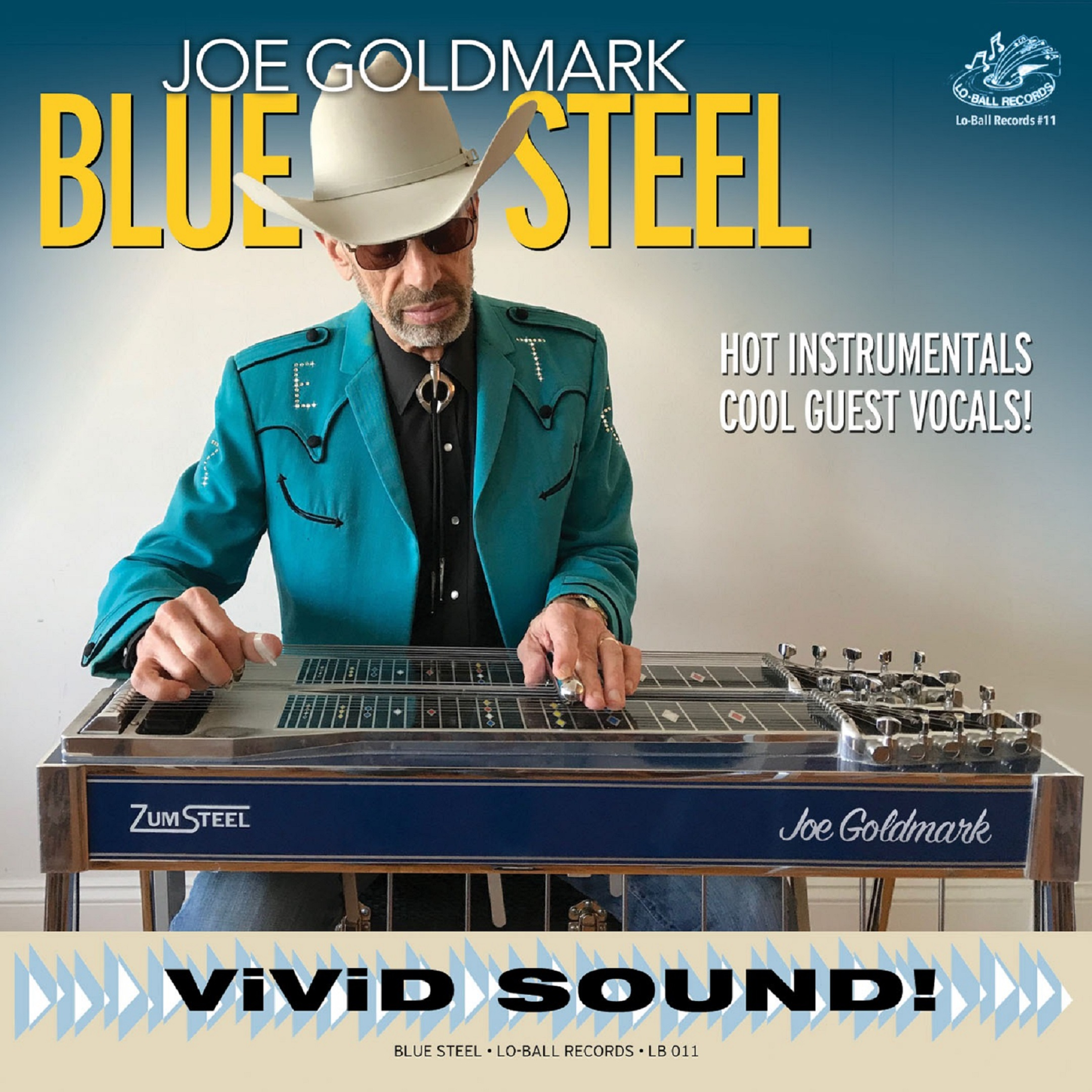 Joe Goldmark's New Album, 'Blue Steel' is Available Now