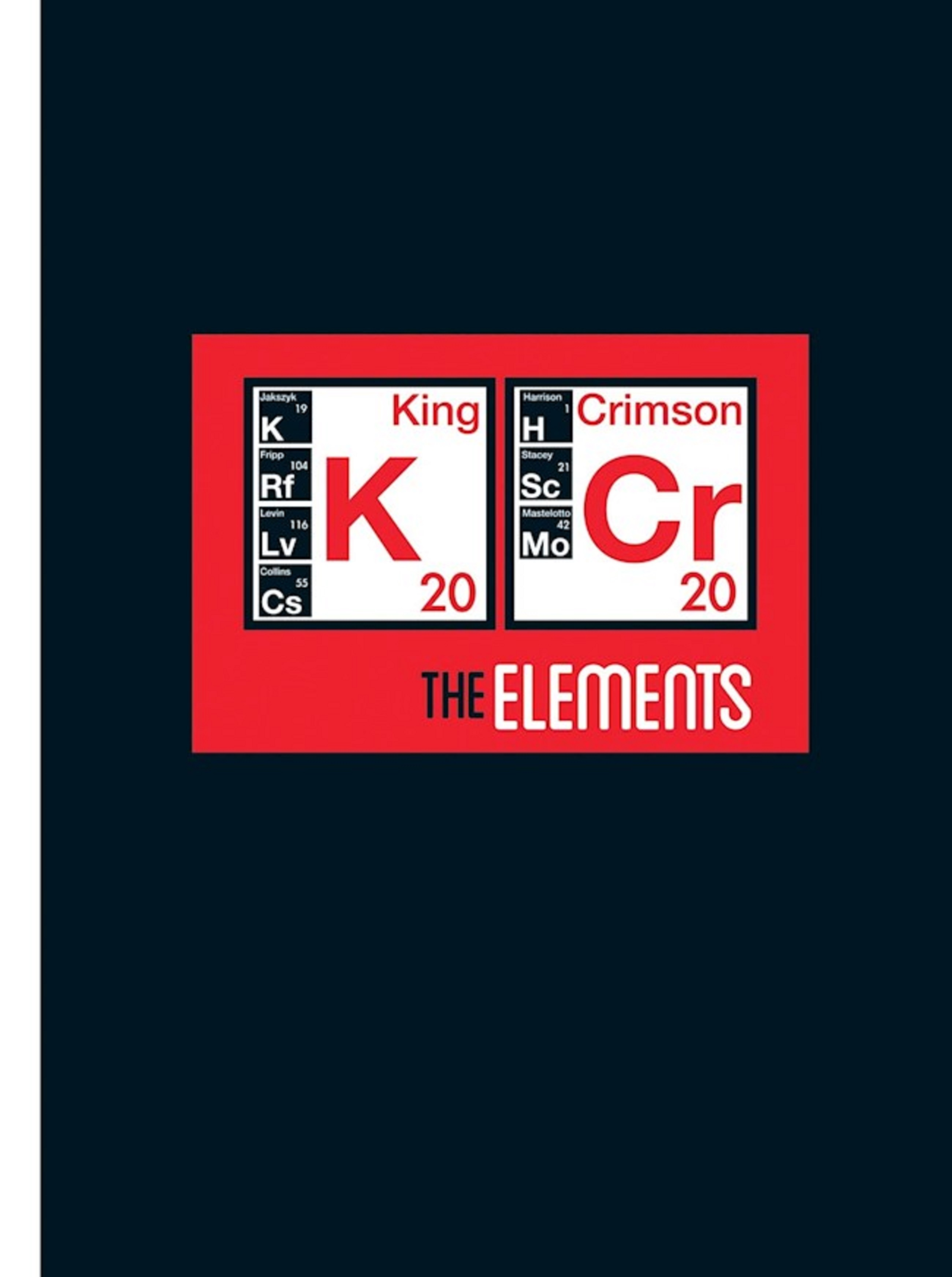 King Crimson's 'The Elements 2020 Tour Box' 2CD Now Available For Pre-order