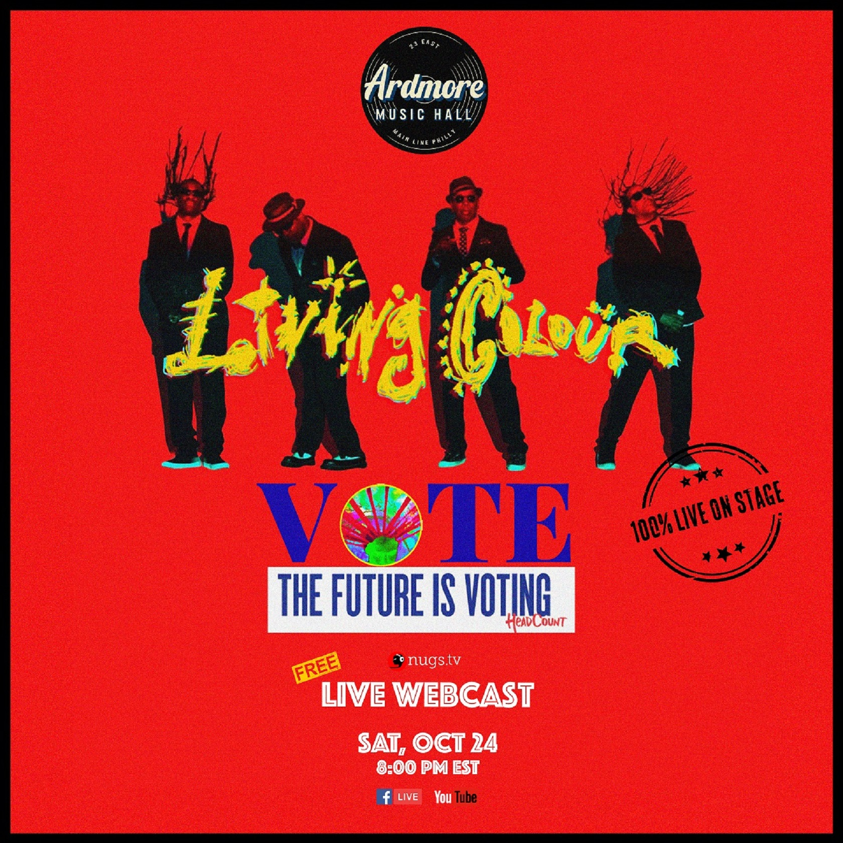 Ardmore Music Hall Announces Living Colour & Everyone Orchestra