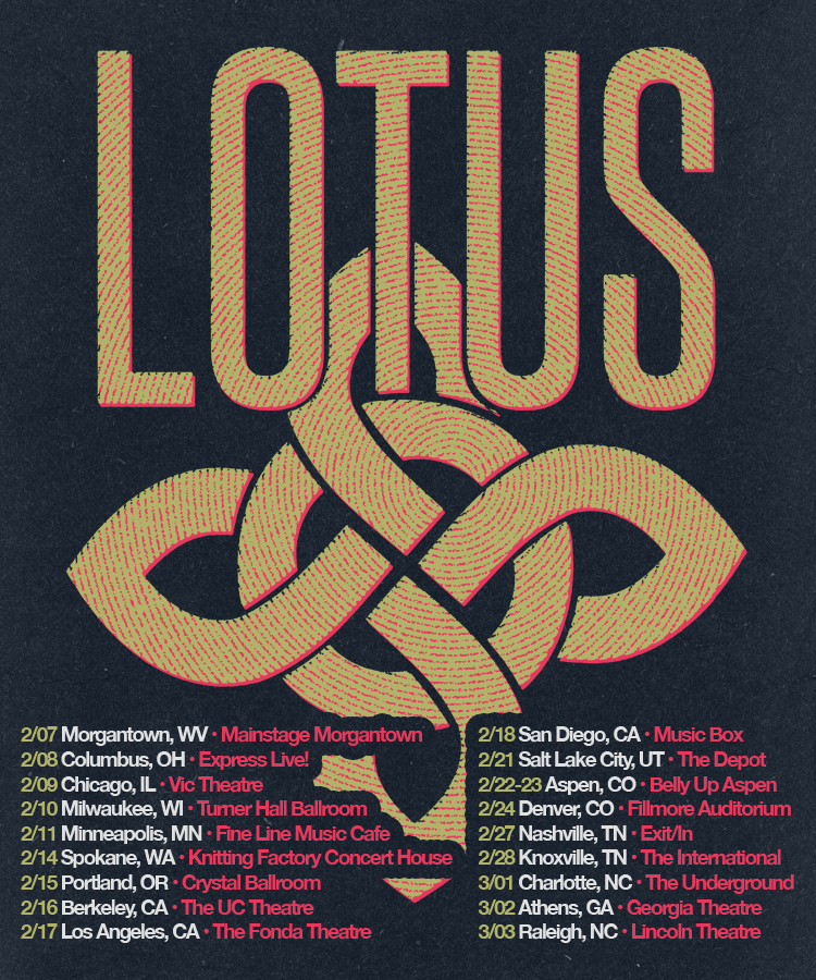 Lotus Announces 2018 Winter Tour