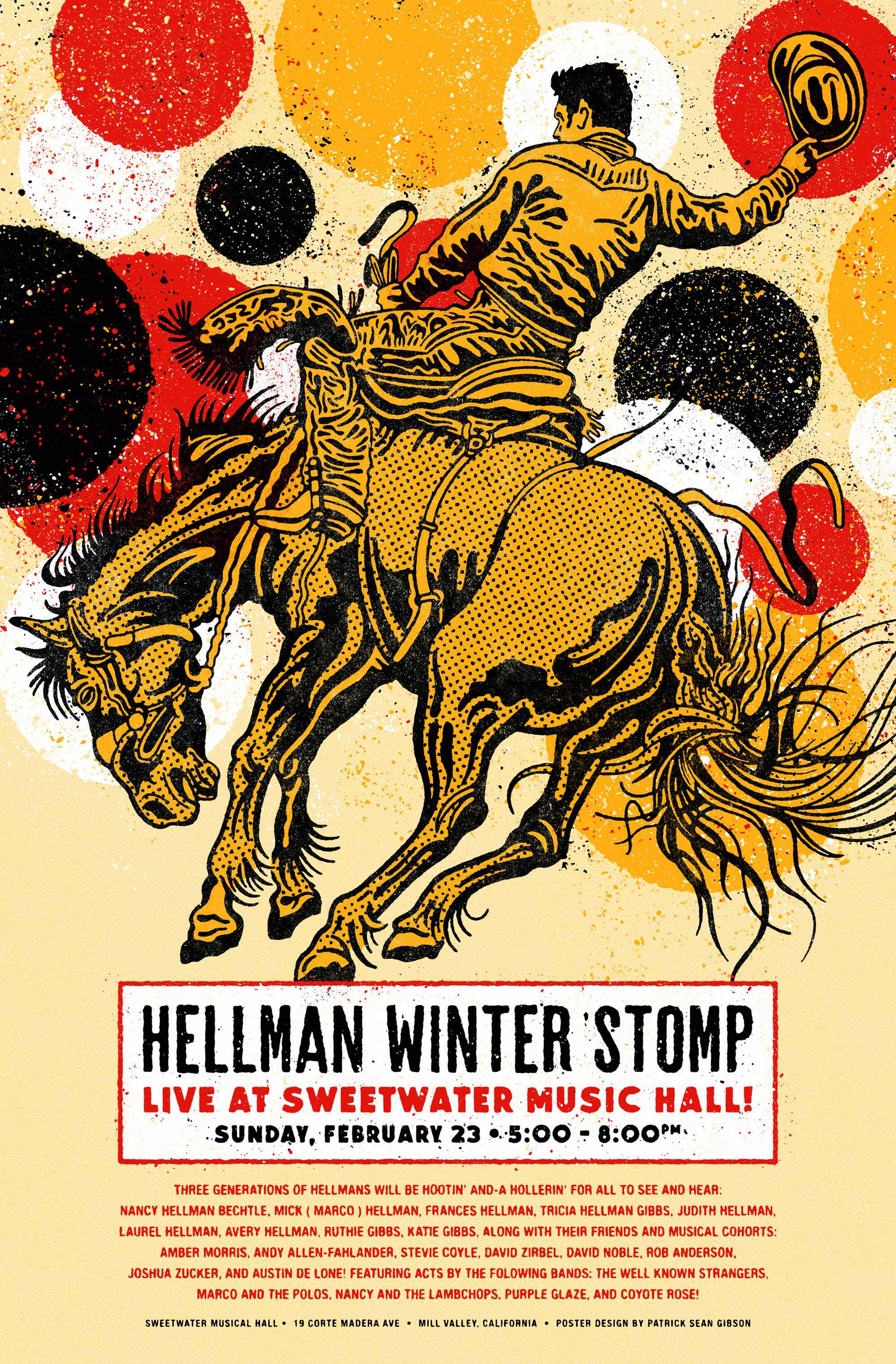 Hellman Winter Stomp Comes To Sweetwater on Februrary 23