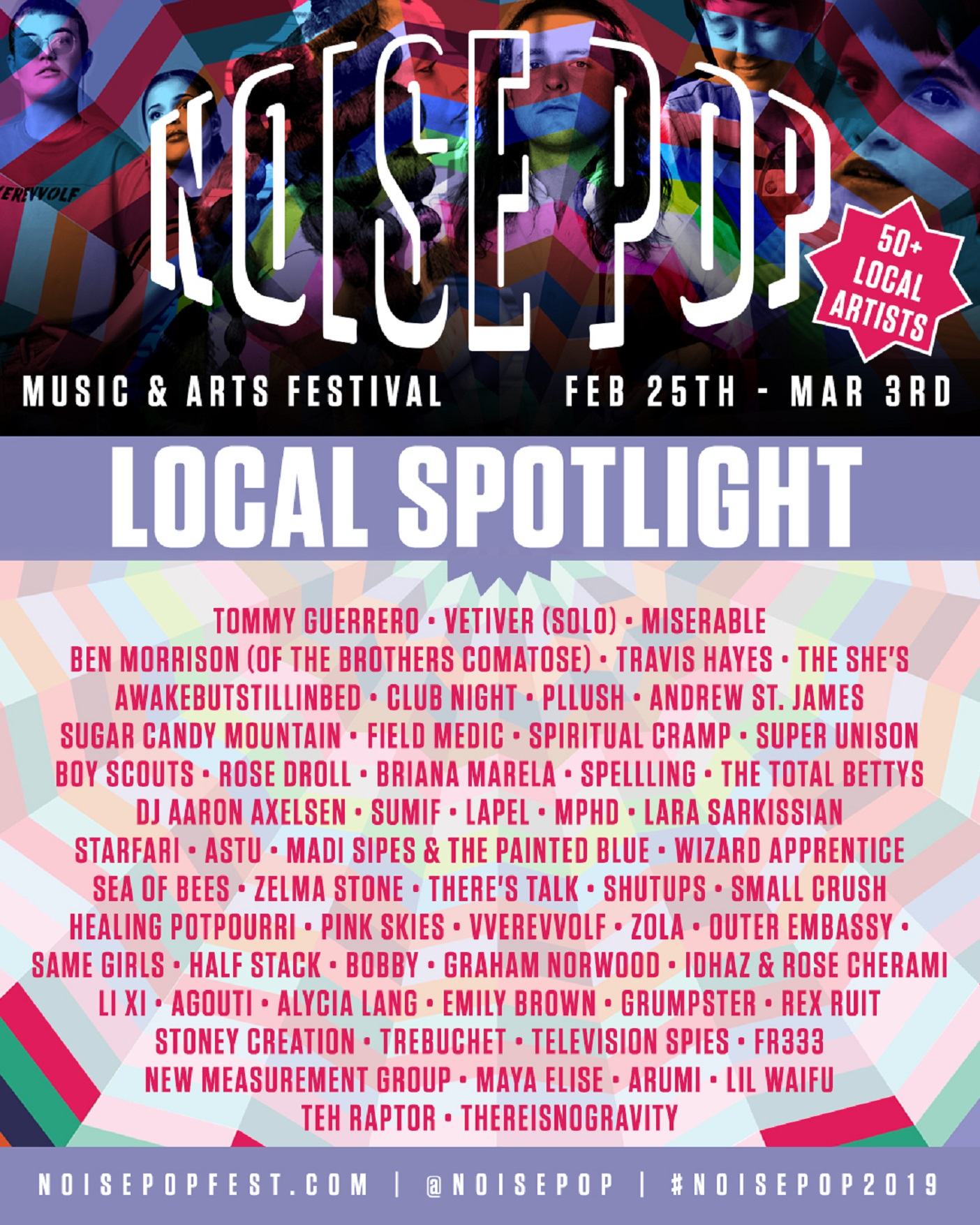 27th Annual Noise Pop Festival Announces Lineup