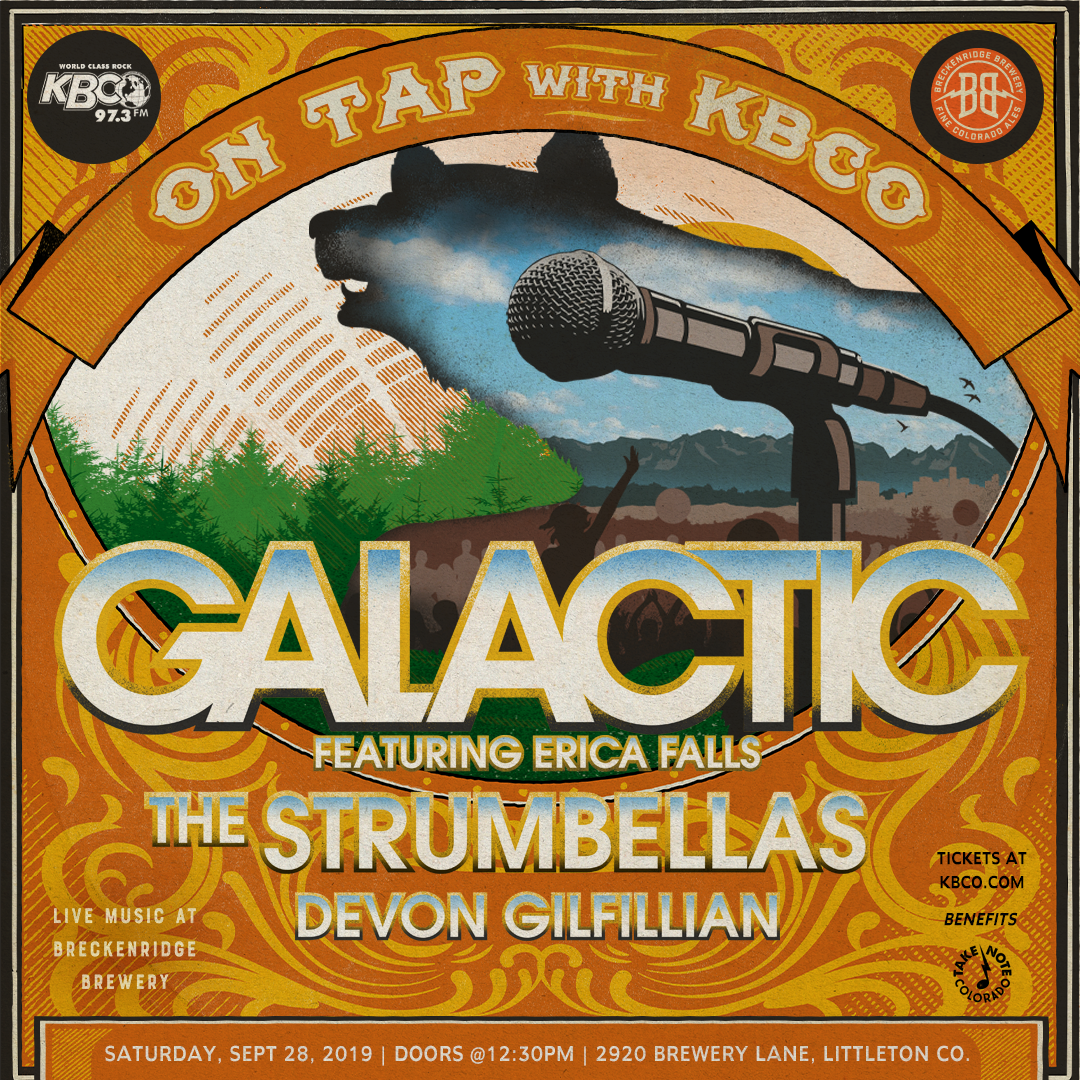On Tap with KBCO - Galactic w/ The Strumbellas