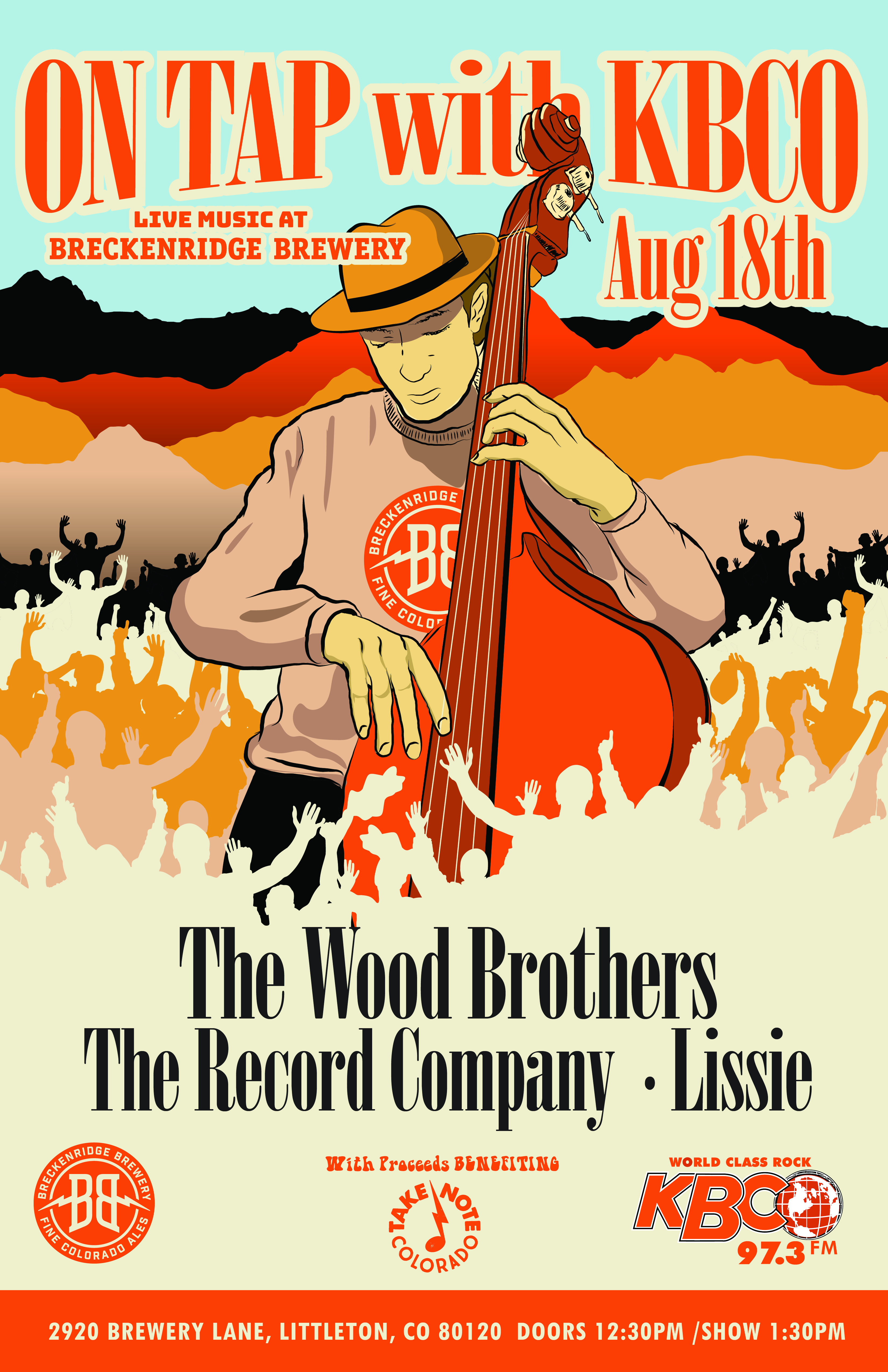 "Breckenridge Brewery ""On Tap with KBCO"" to feature Wood Brothers and Record Company"