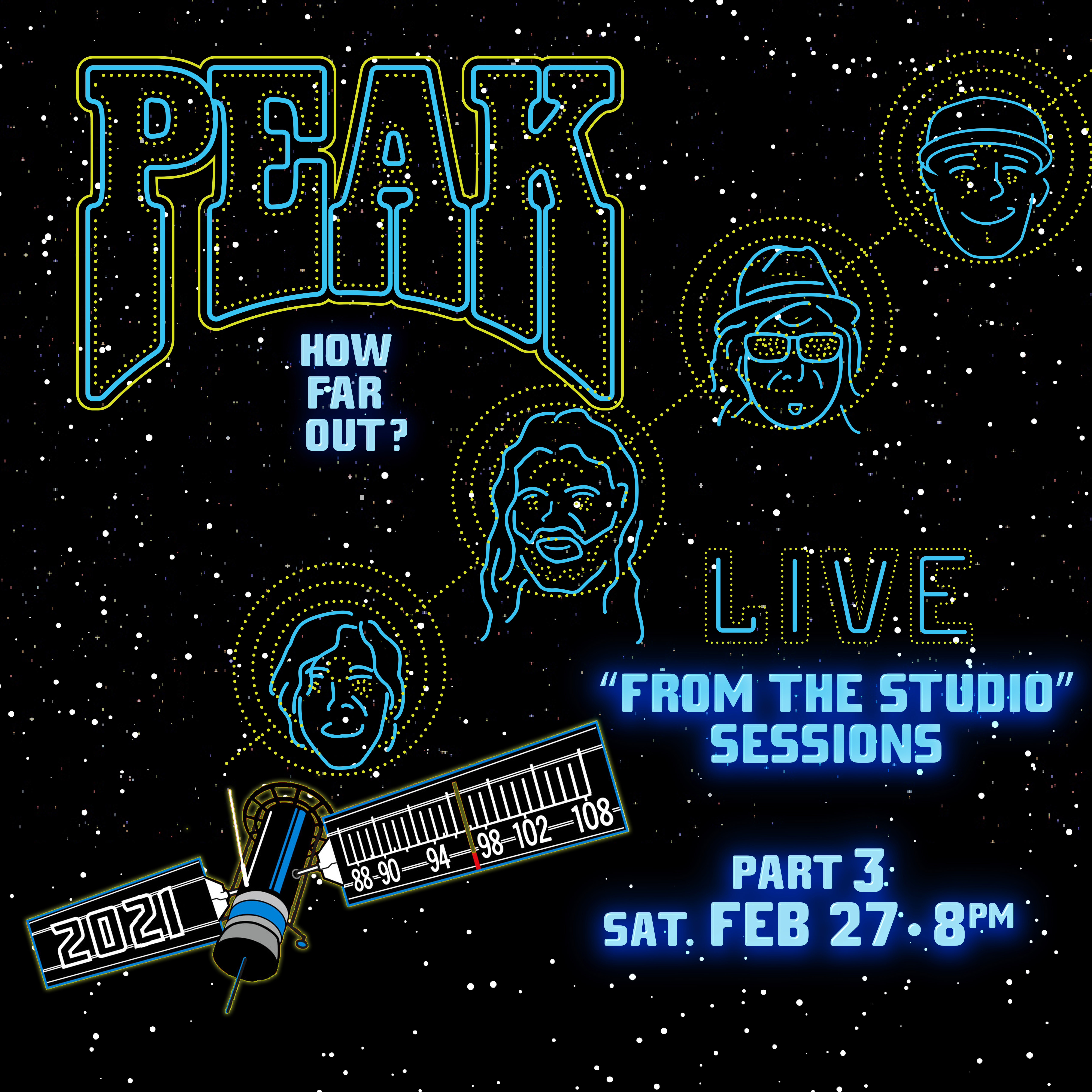 PEAK announces Live From The Studio Sessions PART 3