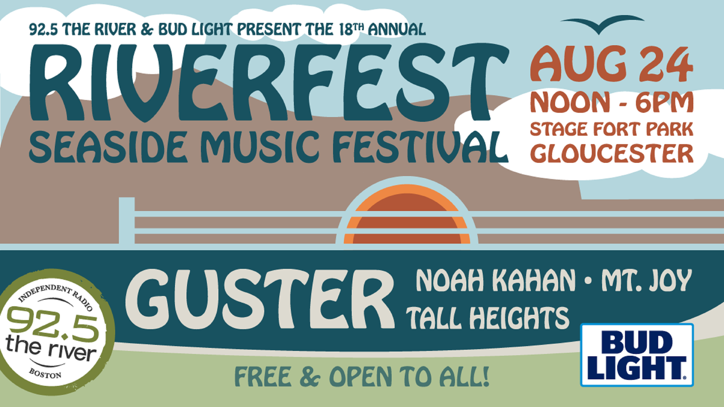 Guster to headline WXRV/92.5 The River's annual Riverfest Seaside Music Festival
