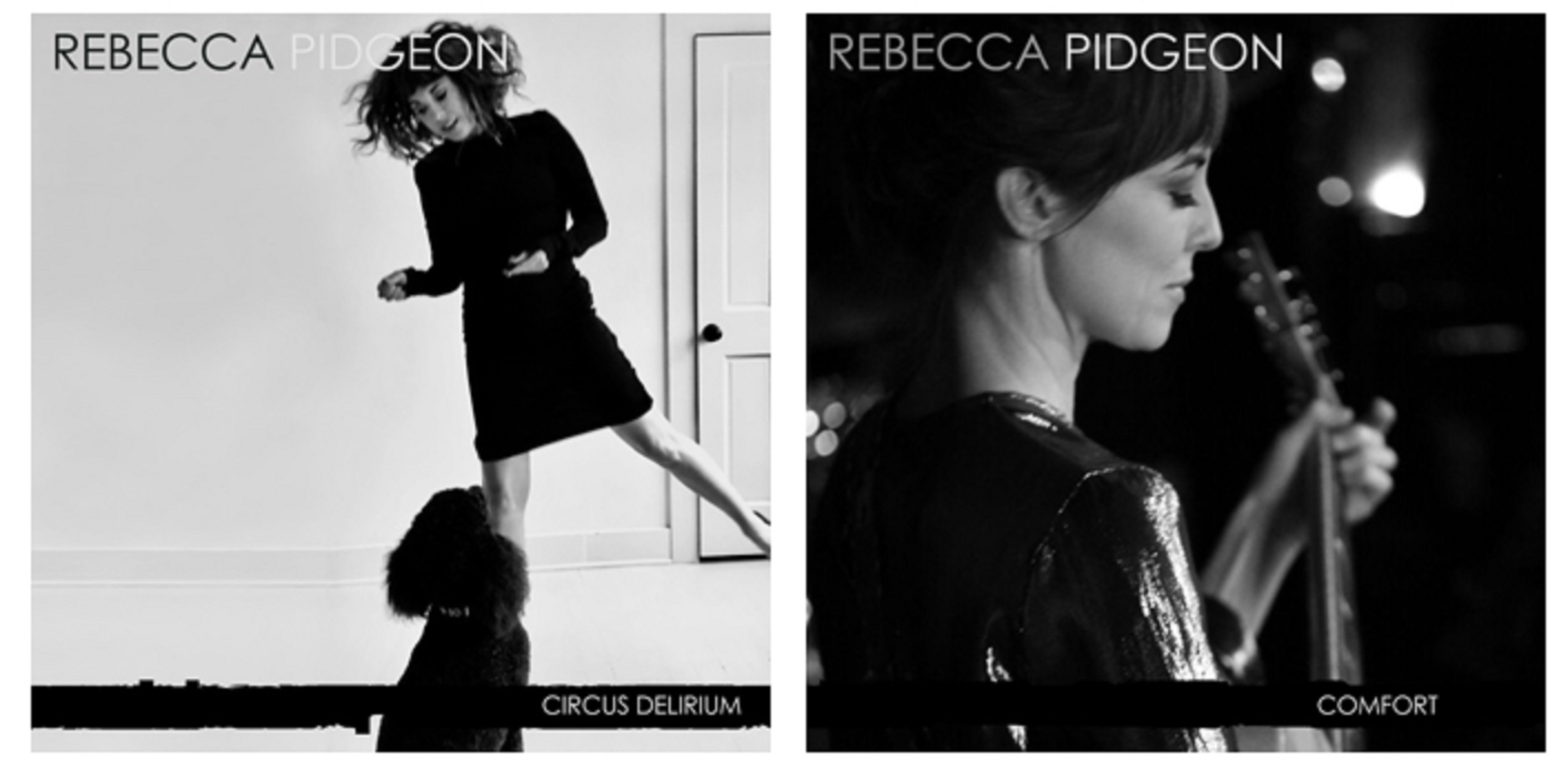 Rebecca Pidgeon Releases Two New EPs