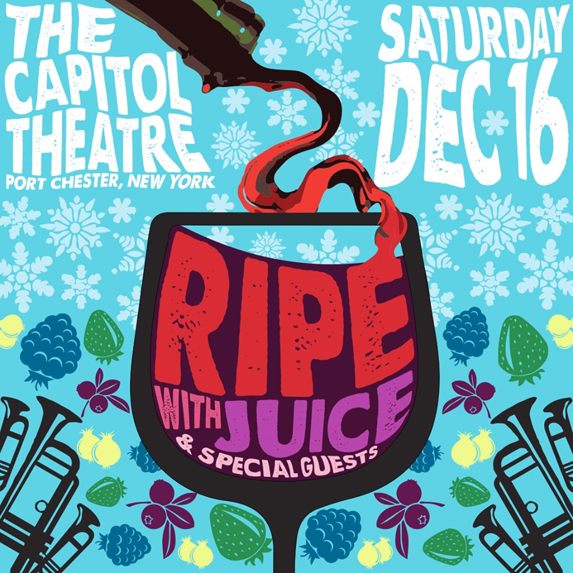 Ripe with Juice and Special Guests at The Capitol Theatre