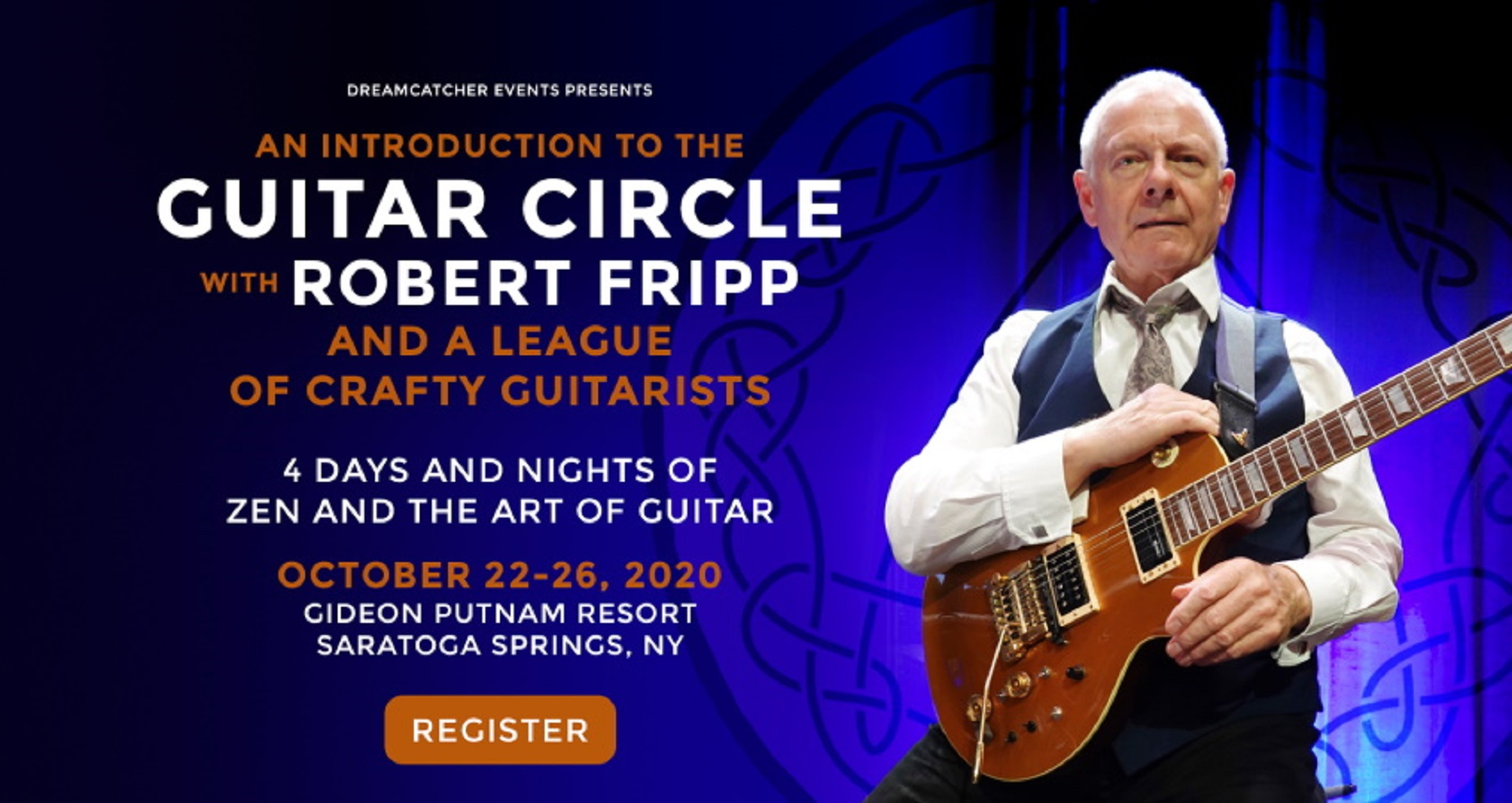 Robert Fripp's Introduction To The Guitar Circle Four-Day-Long Event