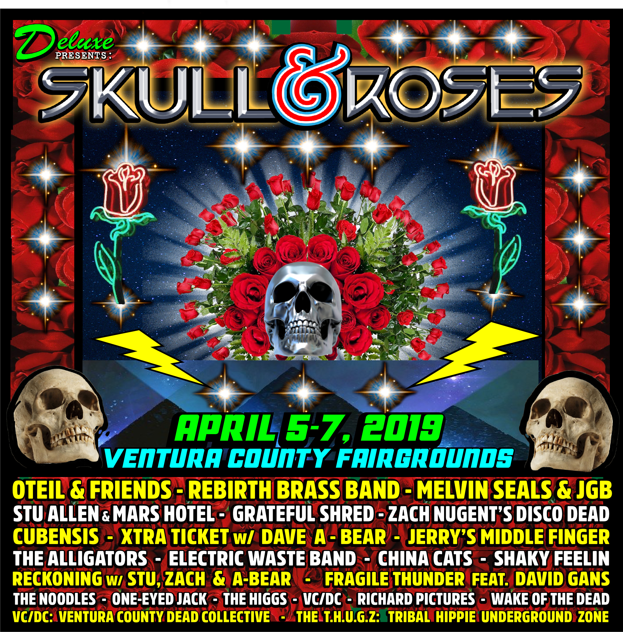 Skull & Roses Festival Returns to Ventura in April