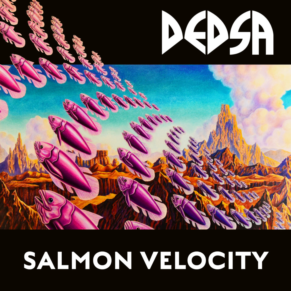 "DEDSA To Release Debut LP ""Salmon Velocity"""