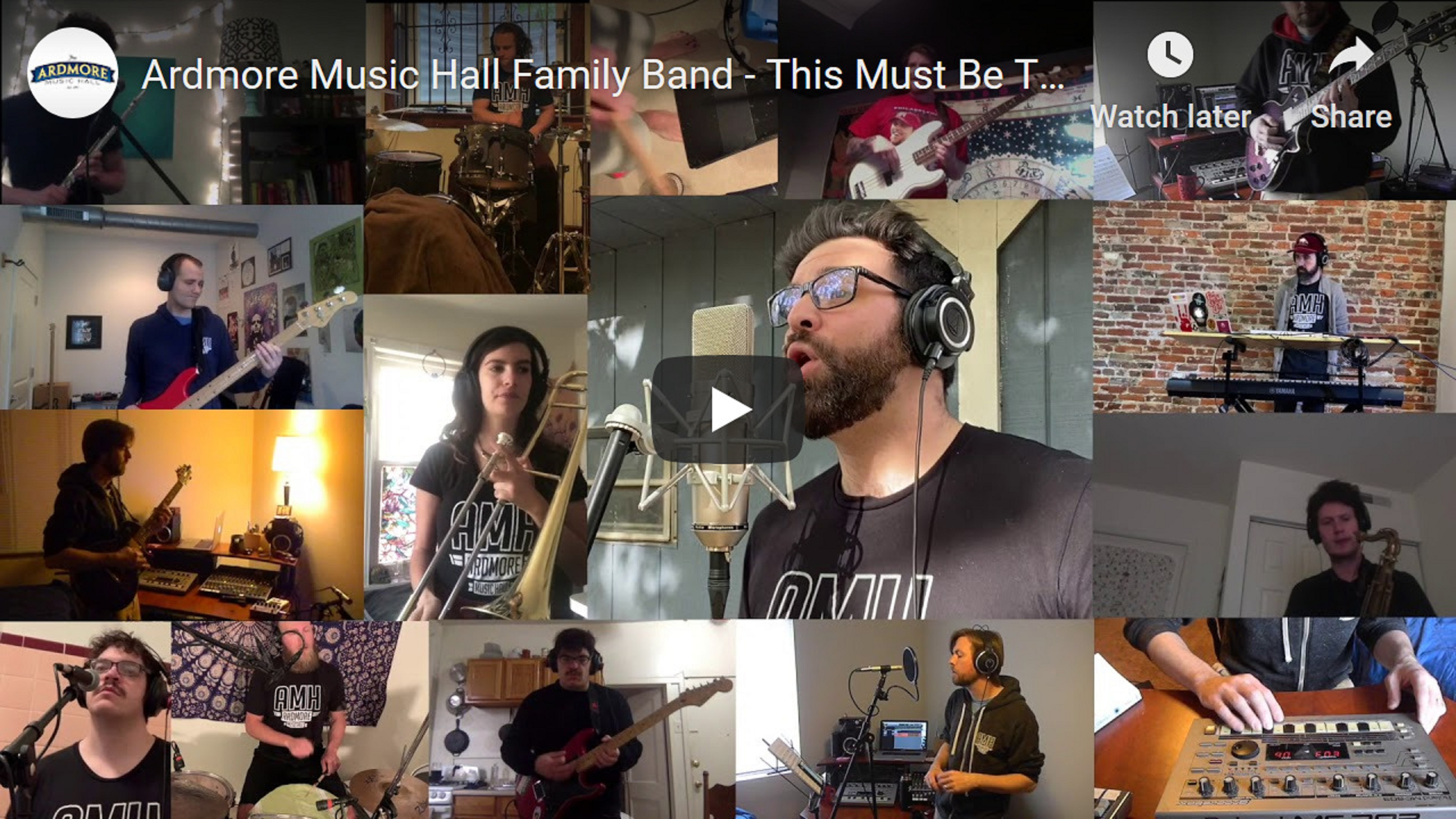 Ardmore Music Hall Announces Staff Family Band, Audio and Video Releases, and Support for Independent Venues