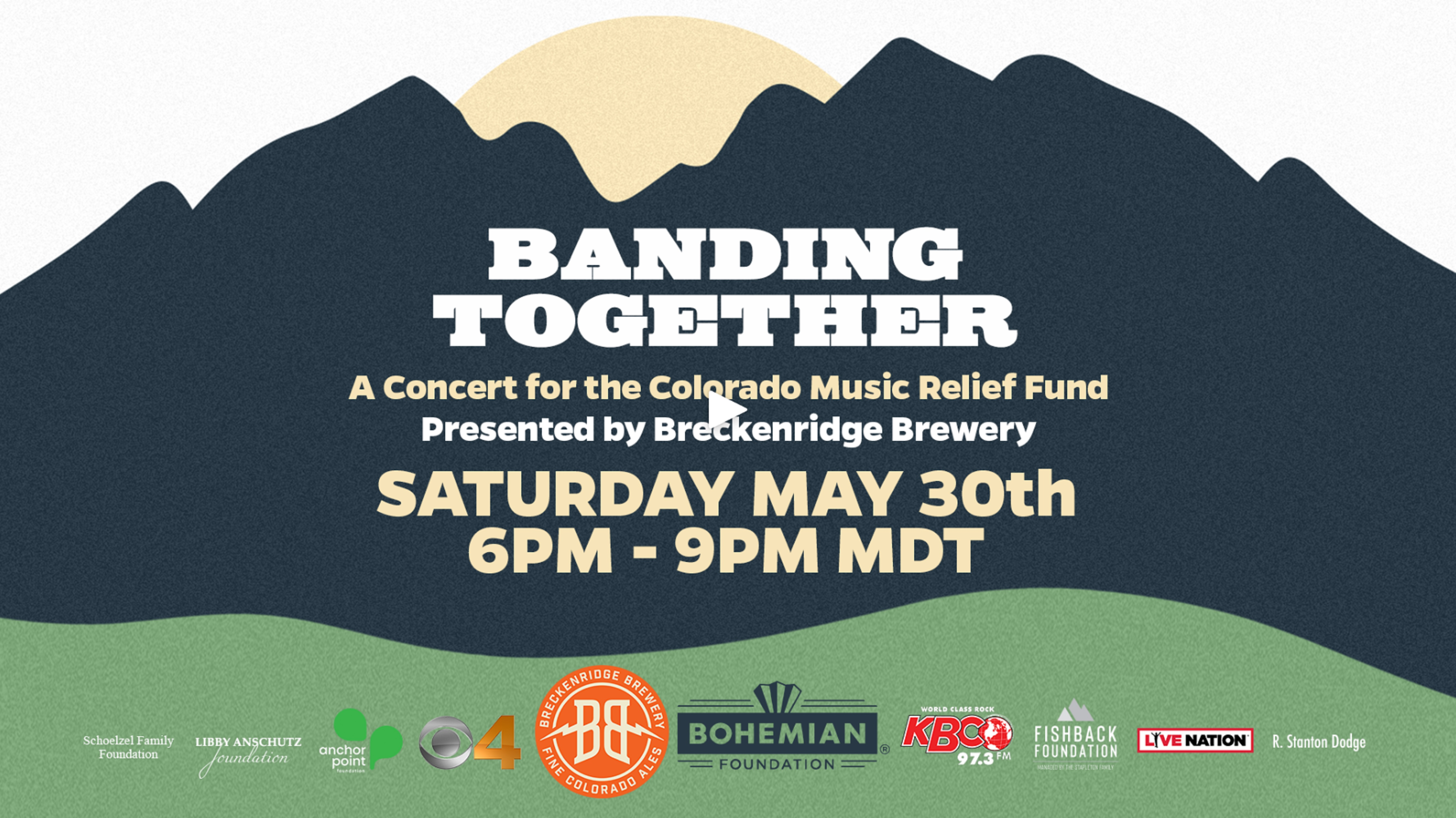Colorado Music Relief Fund Raises Over $625,000 with 'Banding Together' Concert
