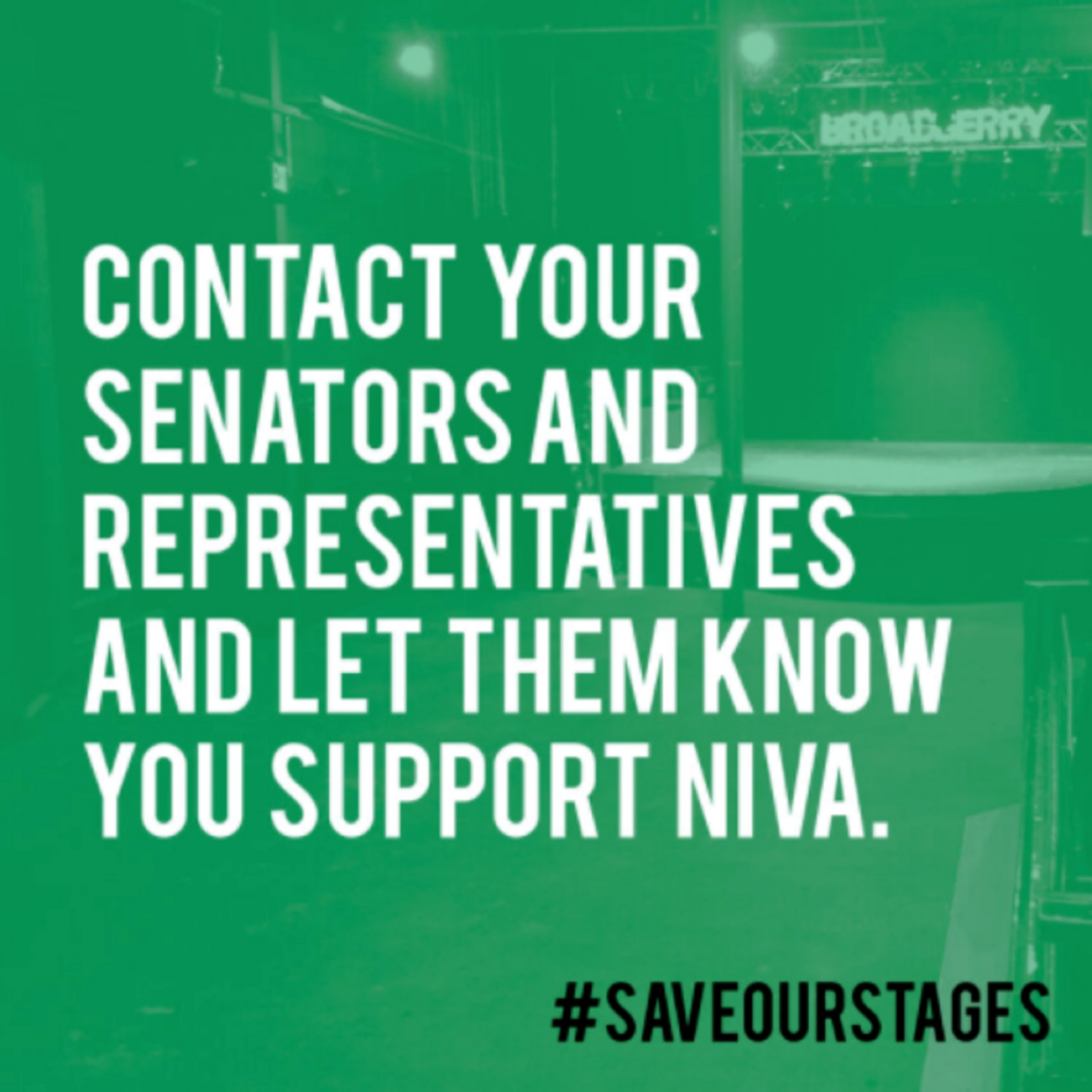 Support the Save Our Stages Act