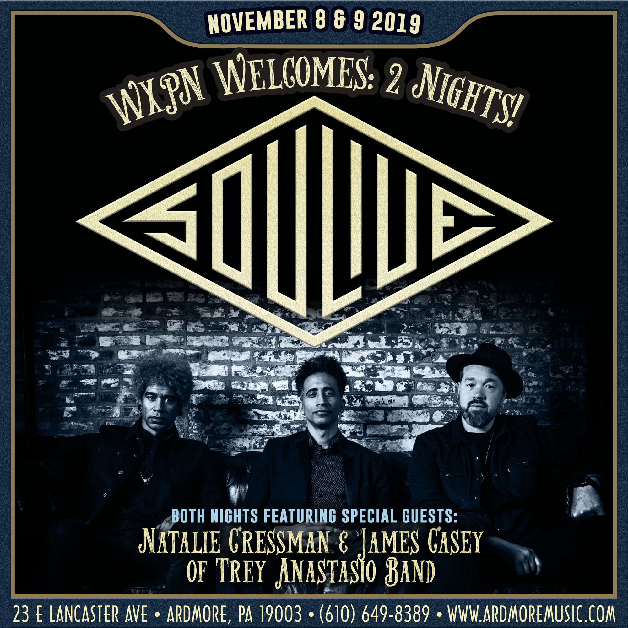 Soulive Returns for 2 Nights this November w/ Special Guests!