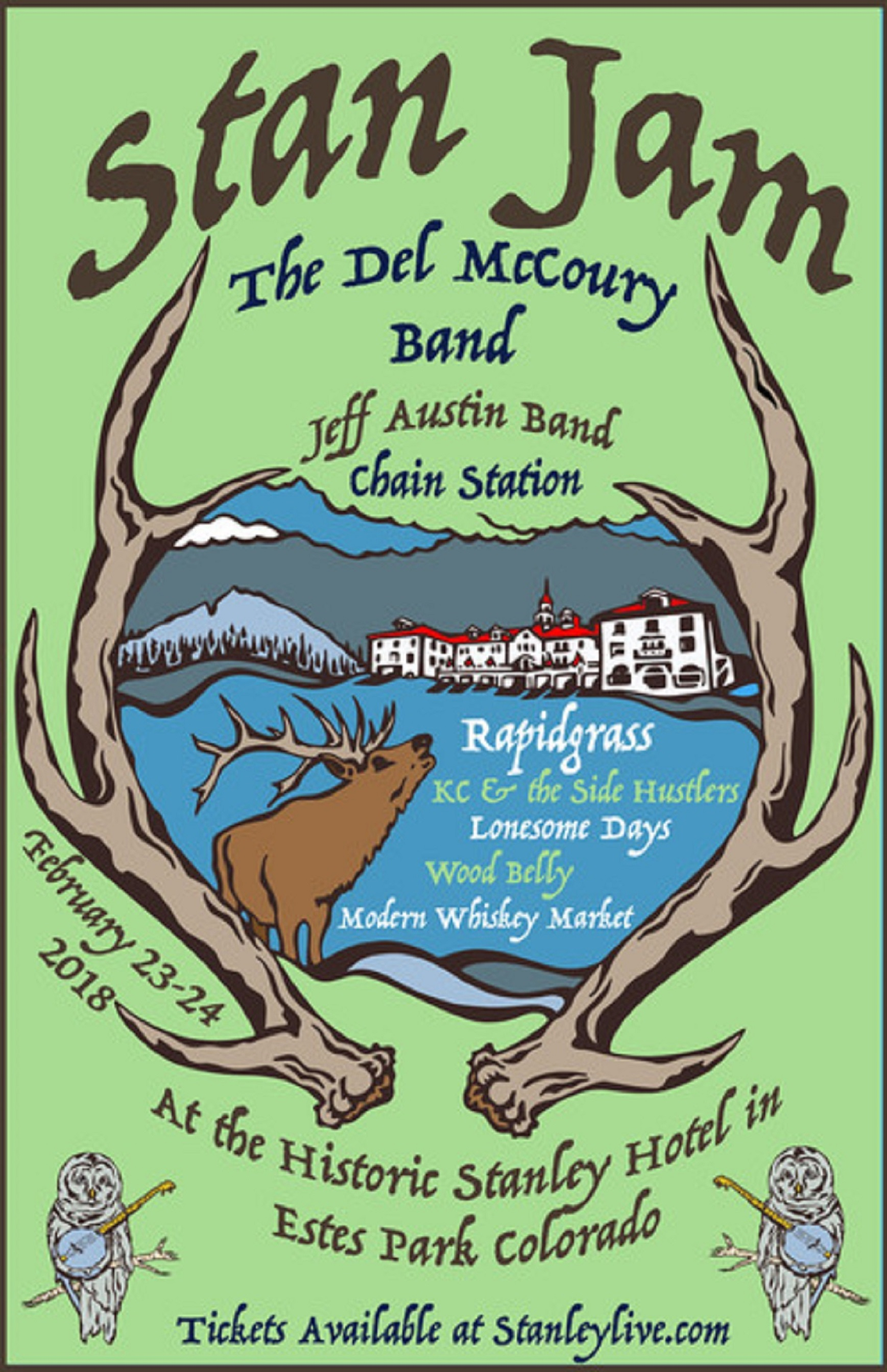 The Stanley Hotel Announces Bluegrass Weekend
