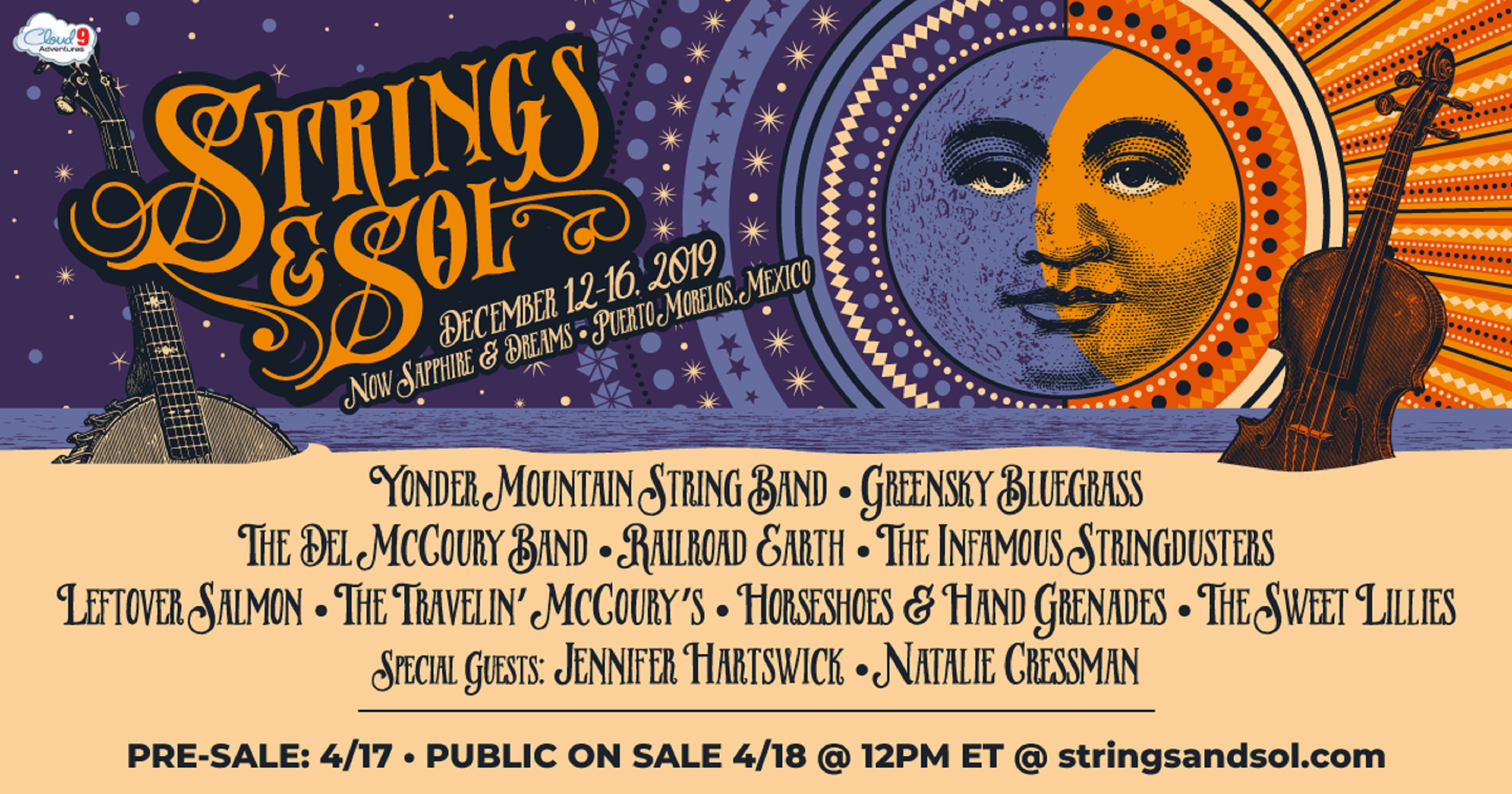 Strings & Sol Announces 2019 Artist Lineup
