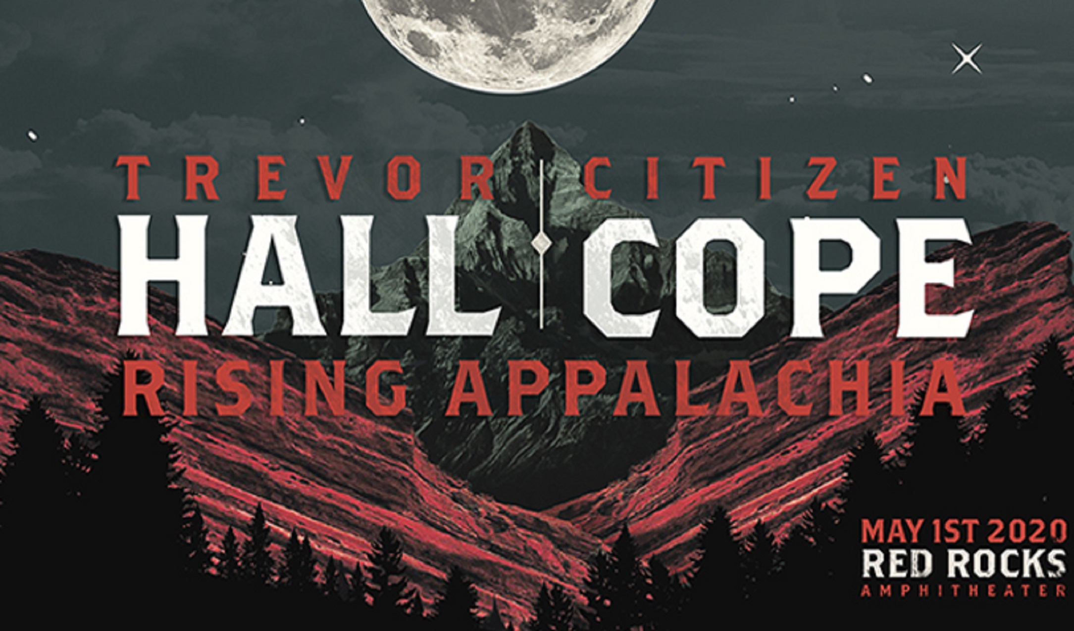 TREVOR HALL AND CITIZEN COPE TO CO-HEADLINE RED ROCKS AMPHITHEATRE