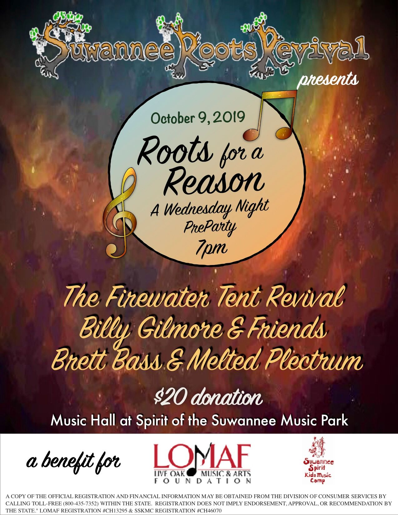 """Roots For A Reason"" @ Suwannee Roots Revival"