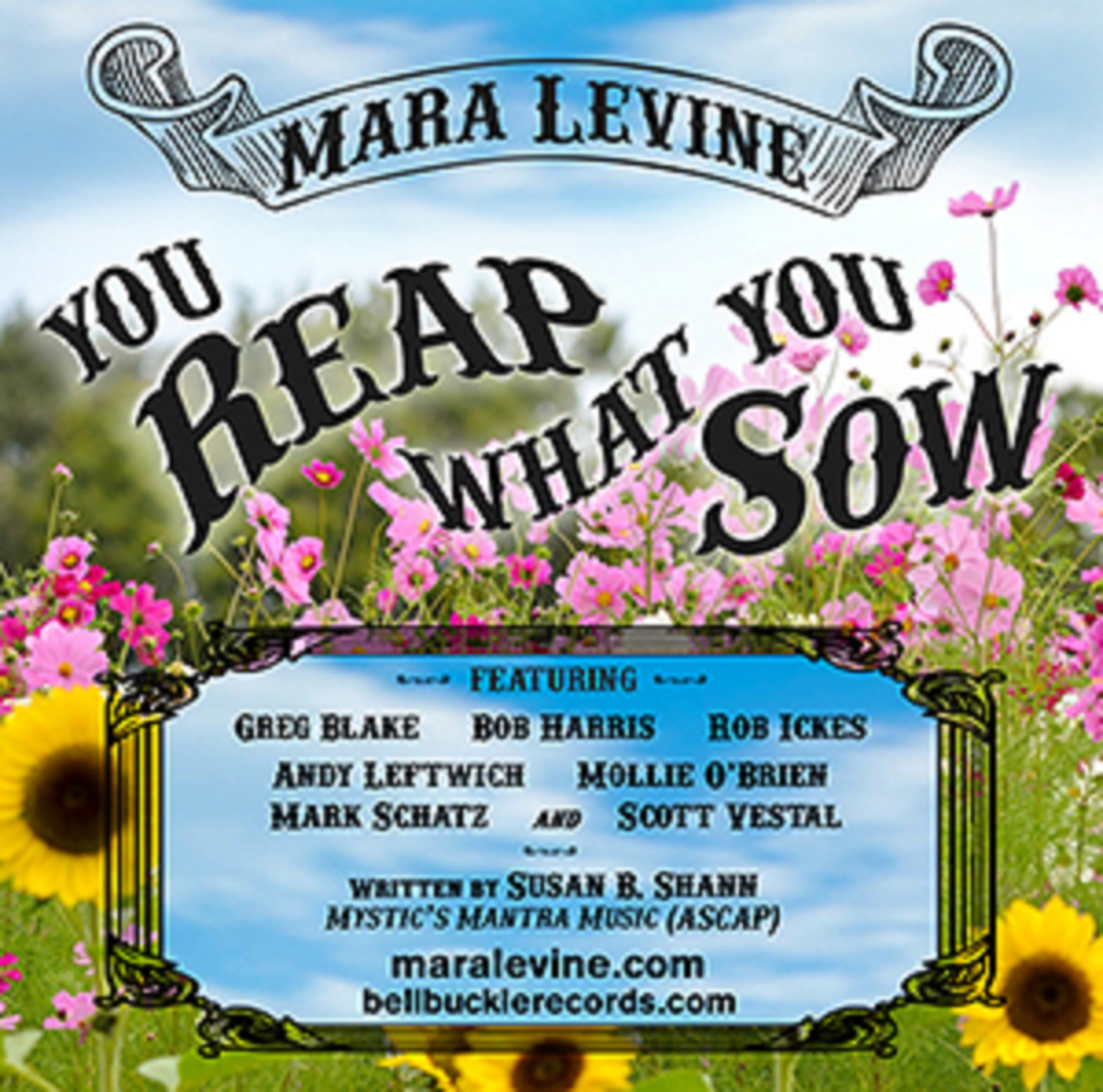 "Mara Levine Releases Inspirational Video For Timely Single ""You Reap What You Sow"""