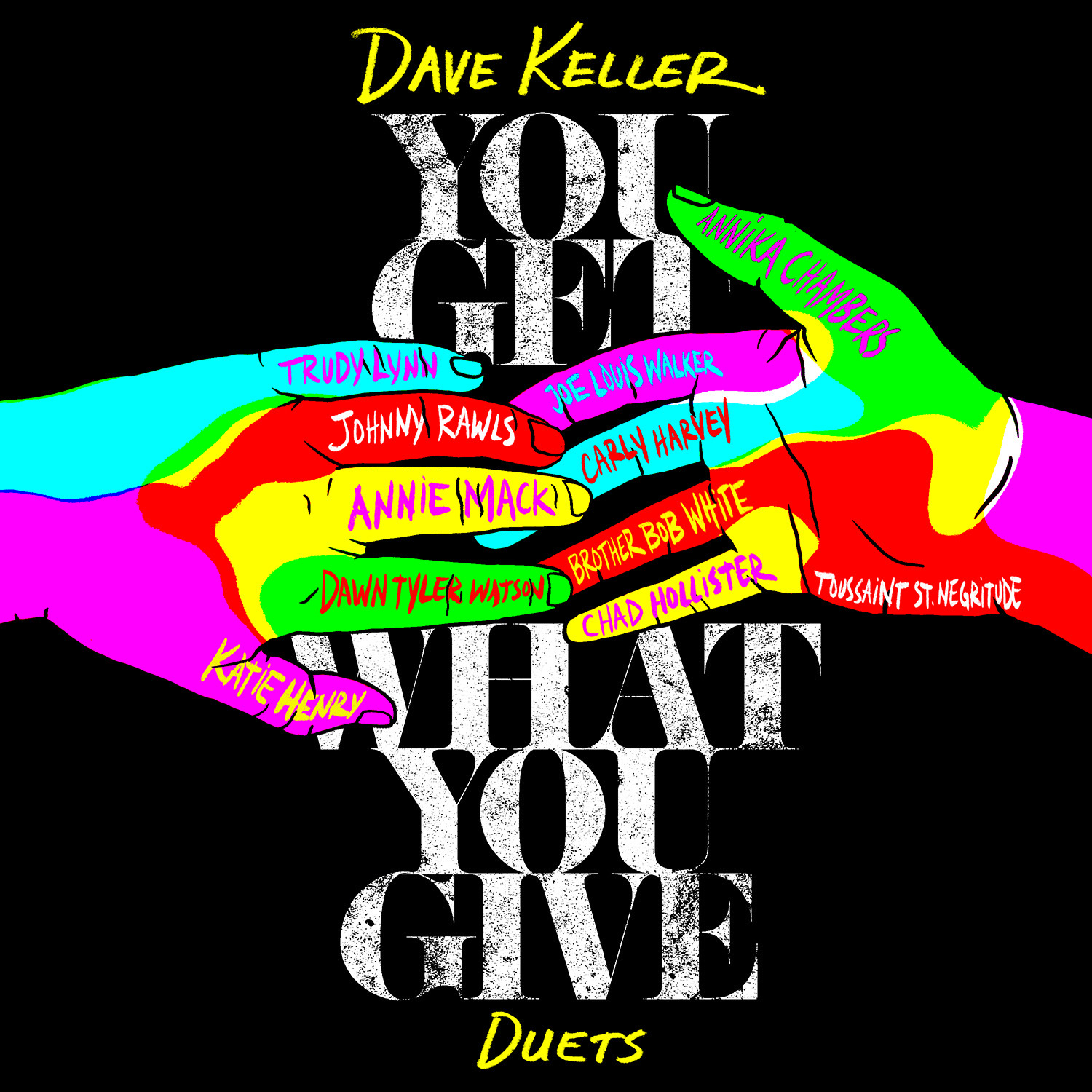 "Dave Keller Proclaims ""You Get What You Give"" on New Album"