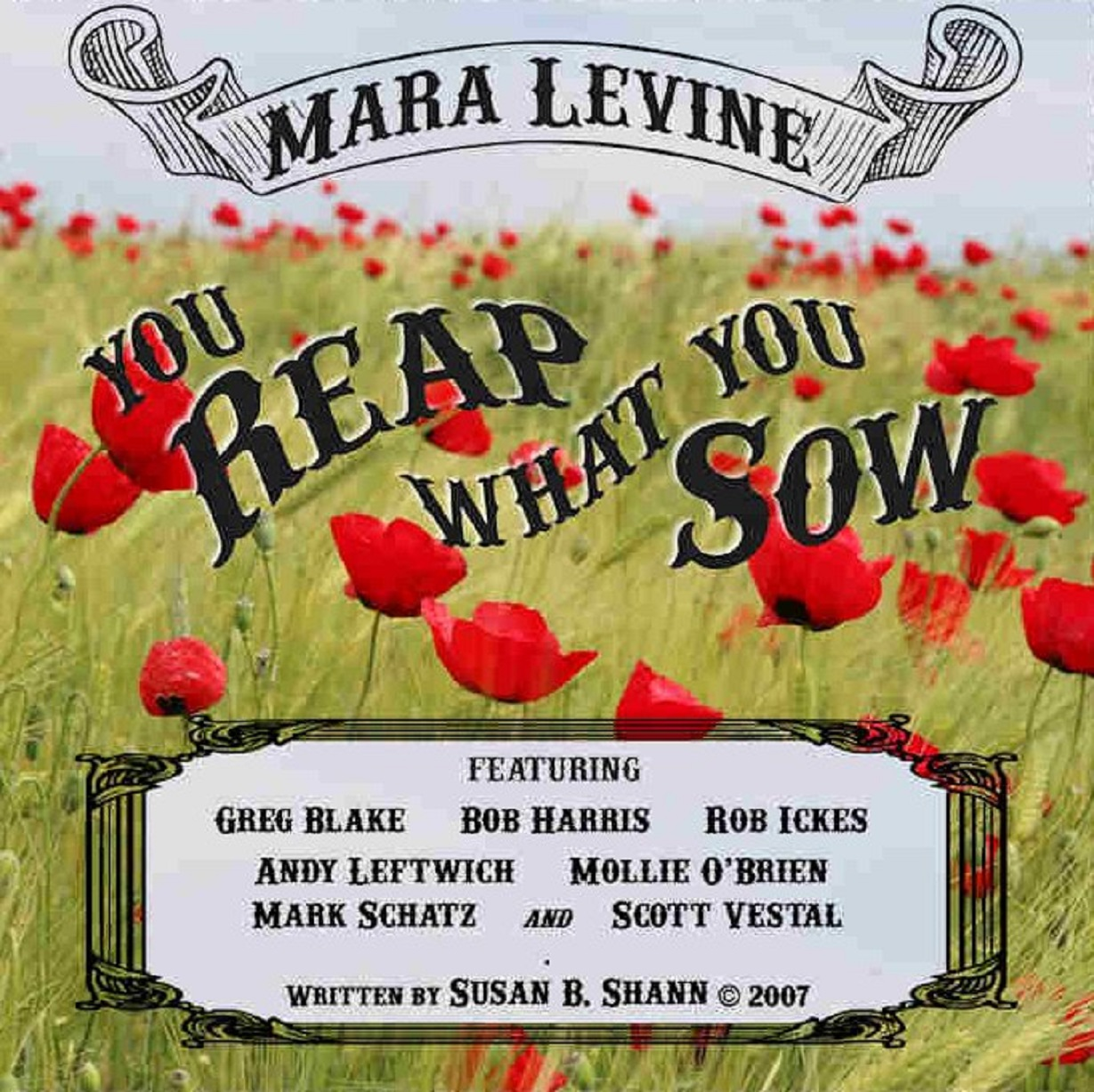 "Mara Levine's ""You Reap What You Sow"" is #1"