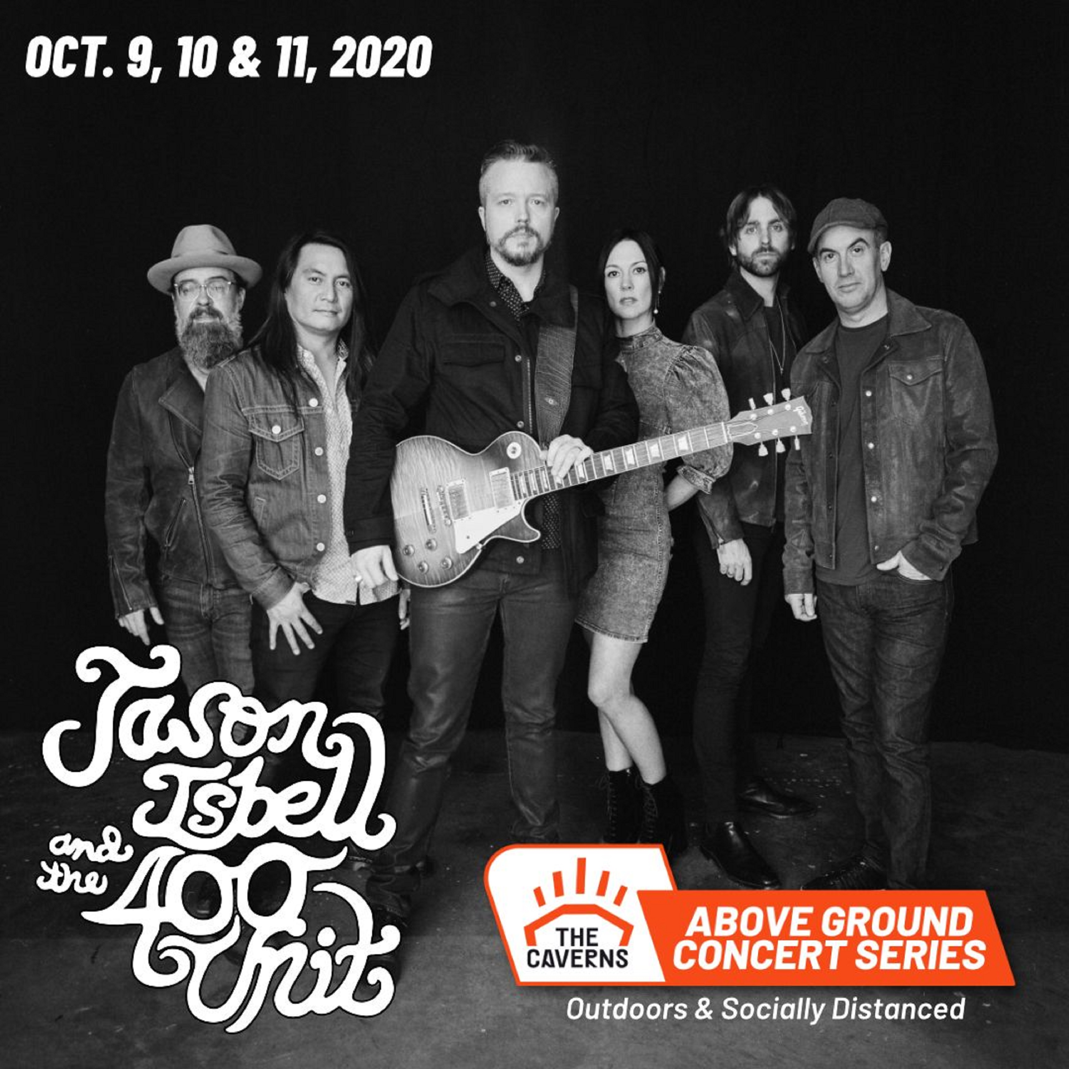 Jason Isbell and The 400 Unit - Outdoors & Socially Distanced at The Caverns