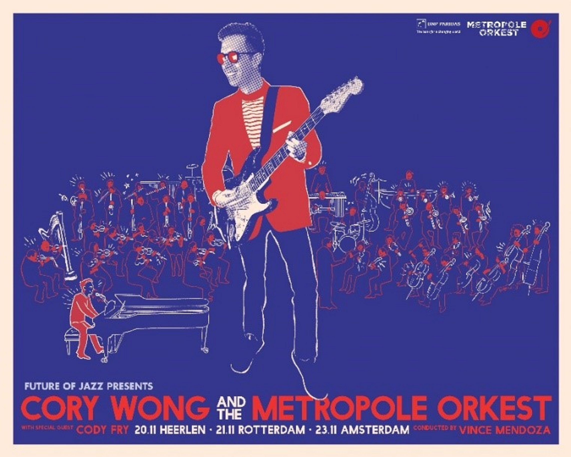 CORY WONG ANNOUNCES THREE SPECIAL PERFORMANCES WITH METROPOLE ORKEST