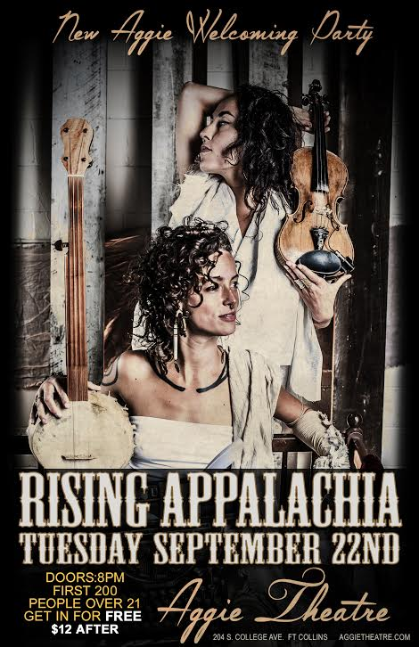 Rising Appalachia to play Aggie Theater Reopening