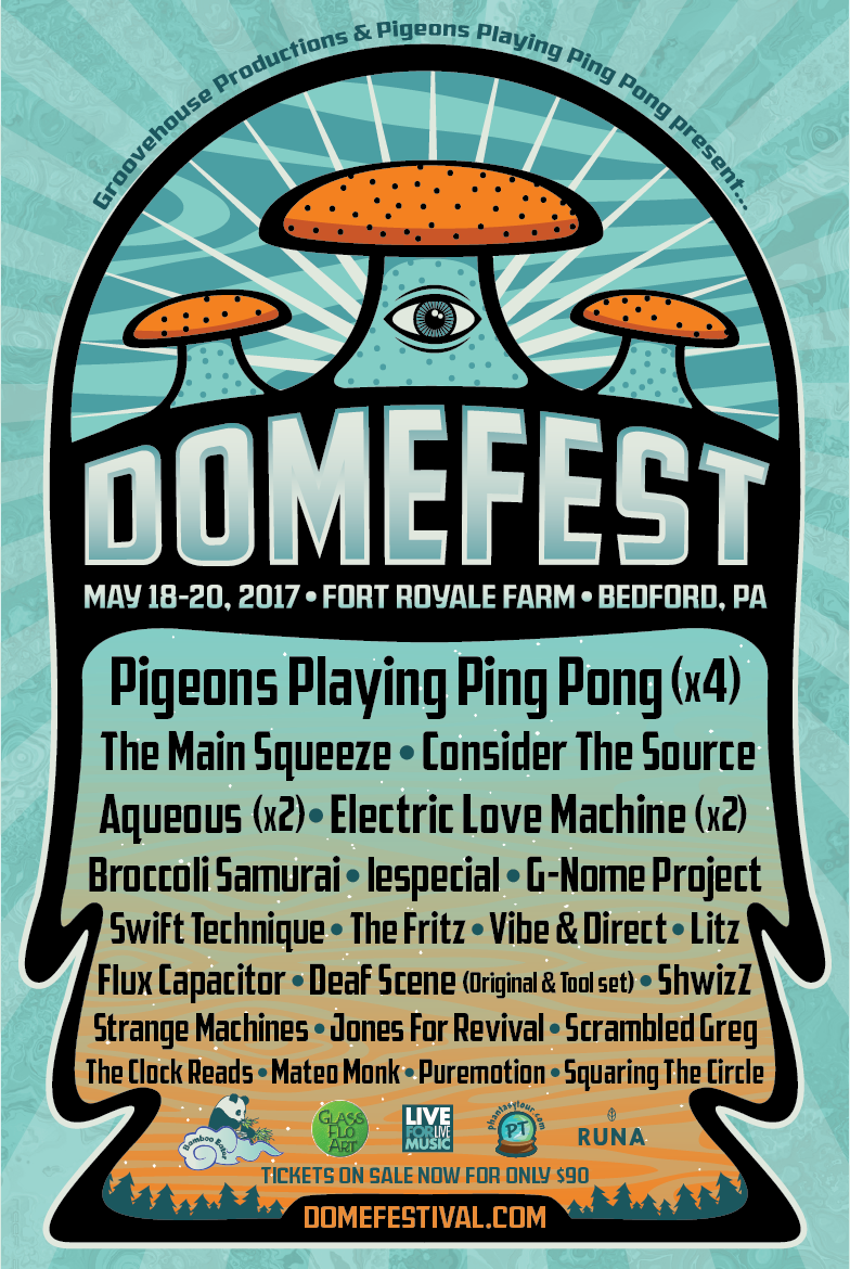 Domefest Announce 2017 Final Lineup