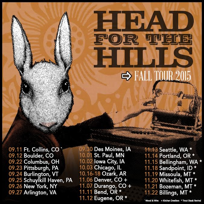 Head for the Hills Fall Tour + New Year