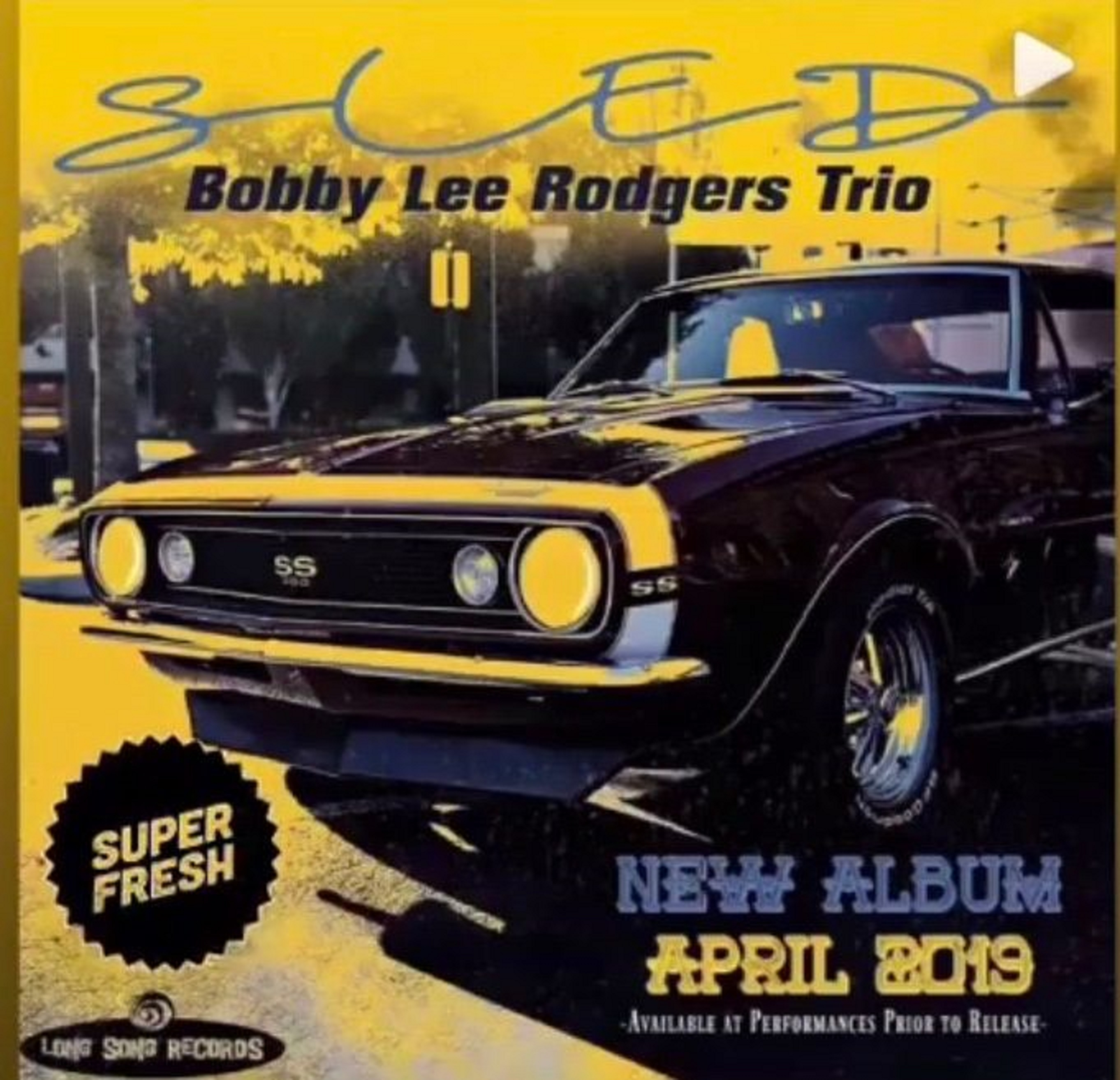 BOBBY LEE RODGERS  Releases Exciting New Album SLED on 4/23