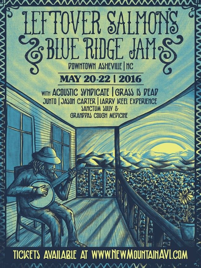 Leftover Salmon's Blue Ridge Jam takes over Asheville